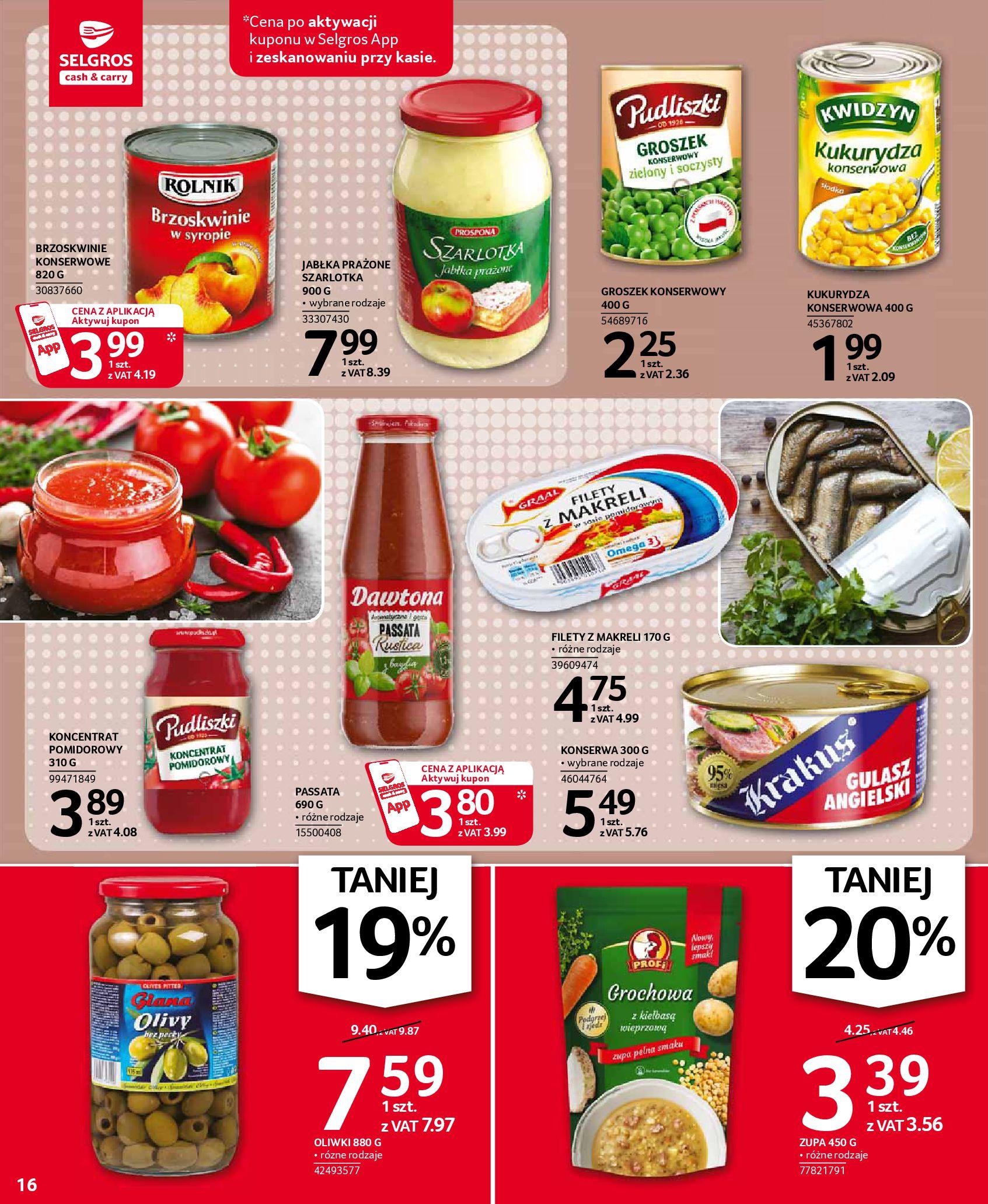Gazetka Selgros: Oferta spożywcza 2021-01-07 page-16
