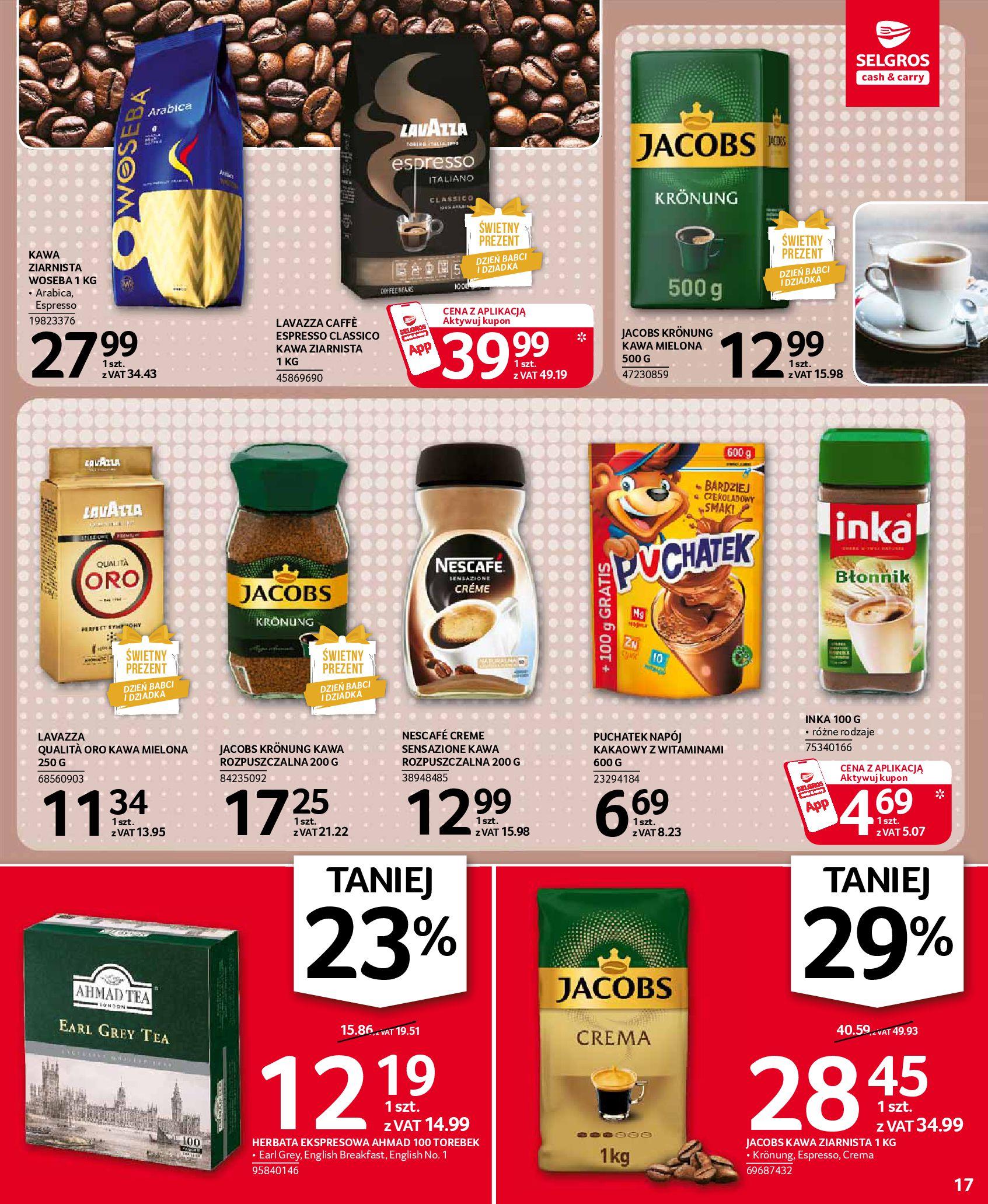 Gazetka Selgros: Oferta spożywcza 2021-01-07 page-17