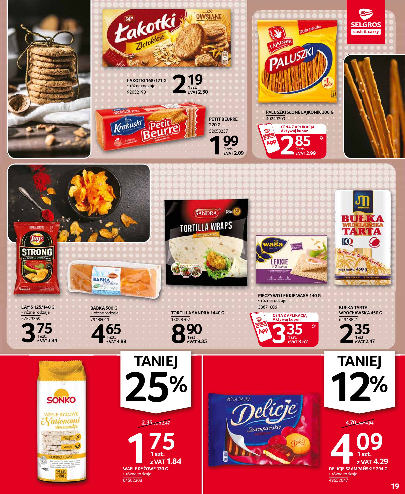 Gazetka Selgros: Oferta spożywcza 2021-01-07 page-19