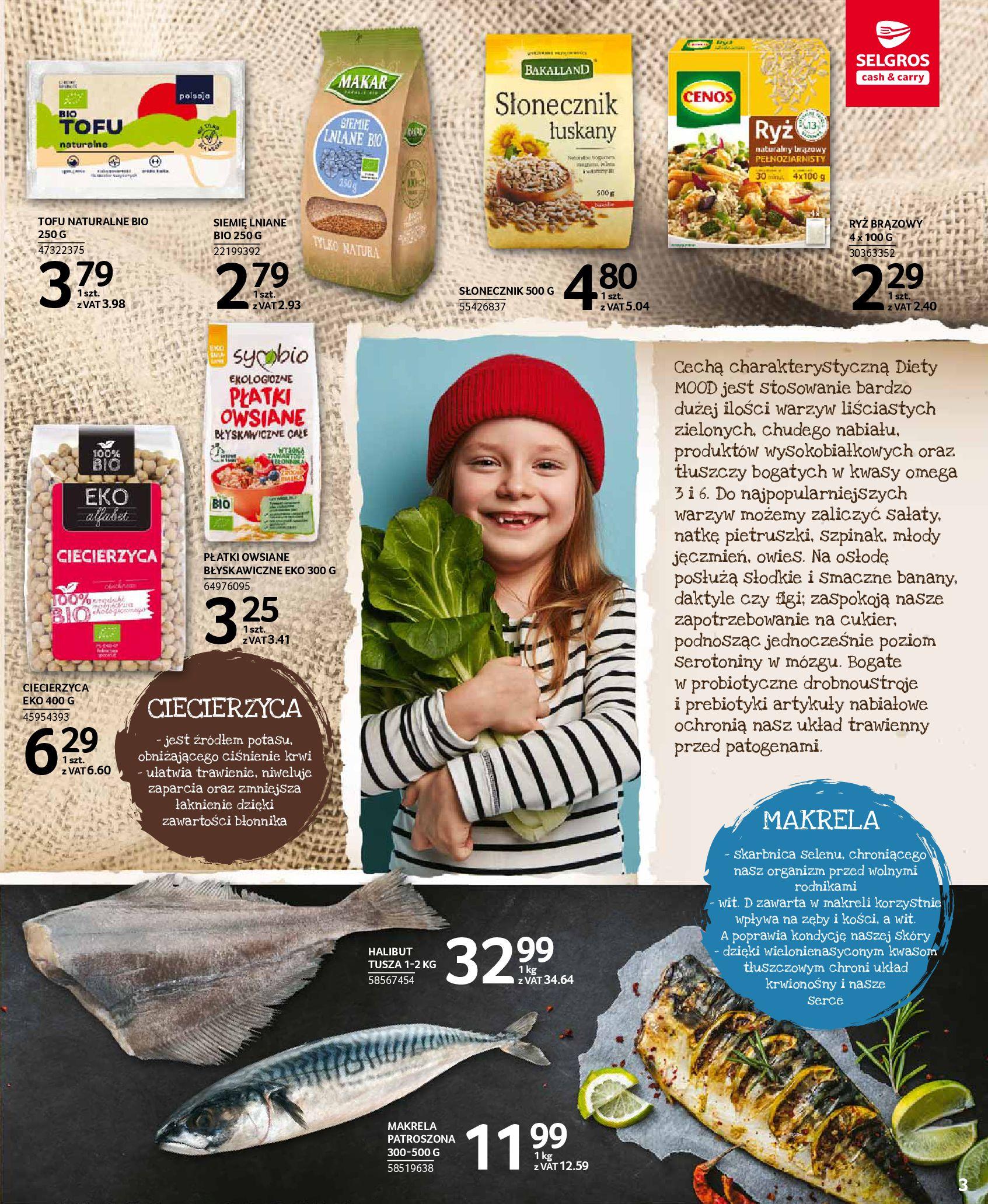 Gazetka Selgros: Oferta spożywcza 2021-01-07 page-3