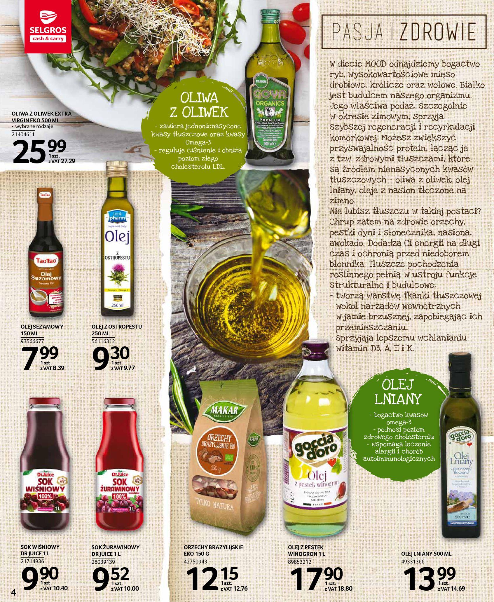 Gazetka Selgros: Oferta spożywcza 2021-01-07 page-4