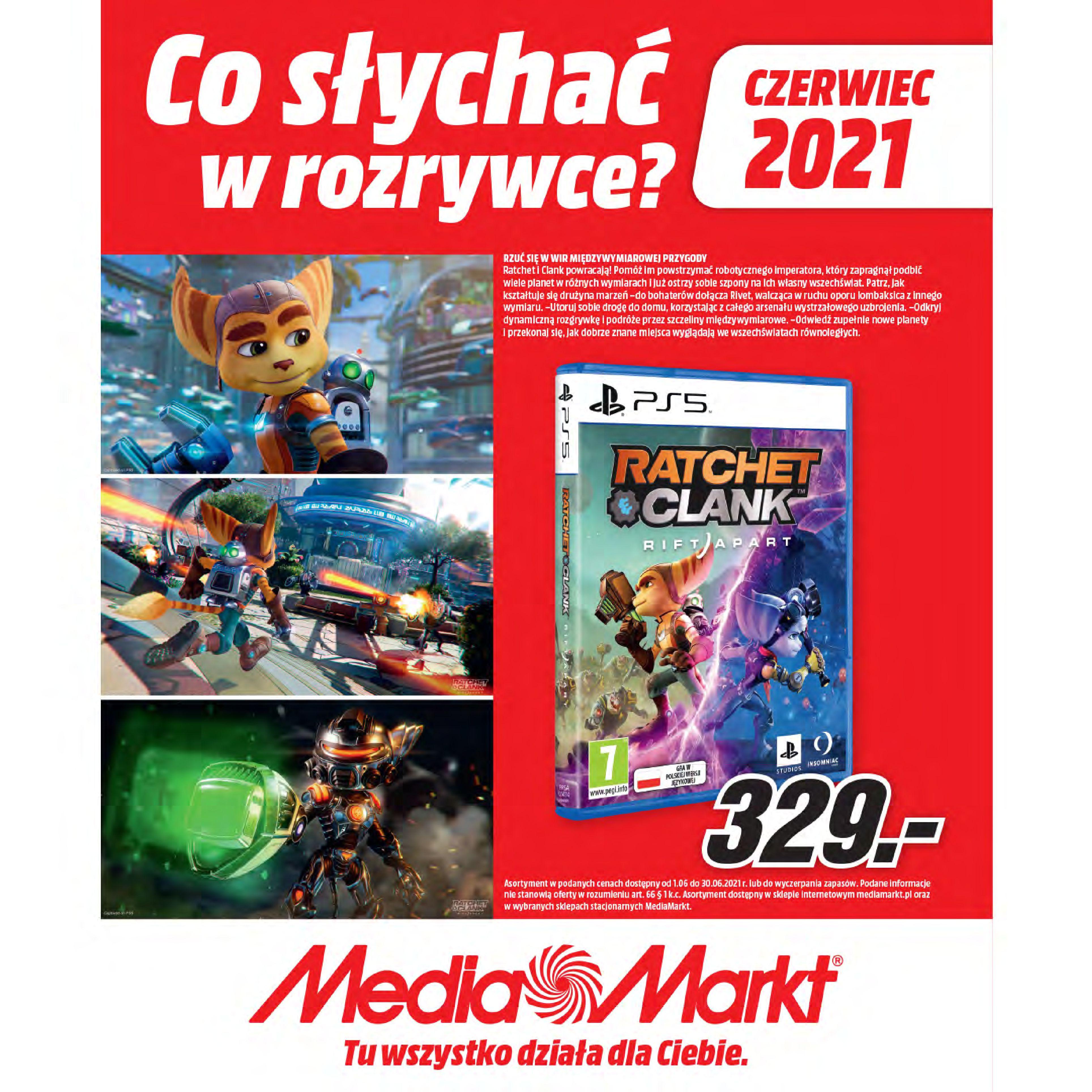 Media Markt:  Gazetka Media Markt - Czerwiec 2021 23.06.2021