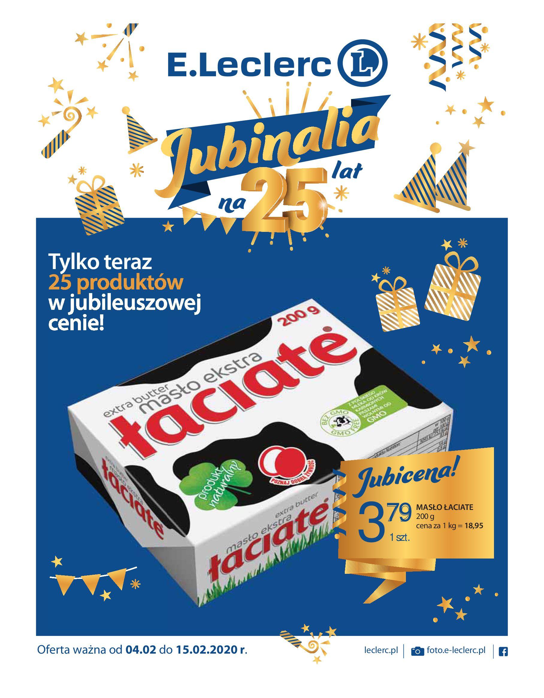Gazetka E.Leclerc - Oferta promocyjna-03.02.2020-15.02.2020-page-1