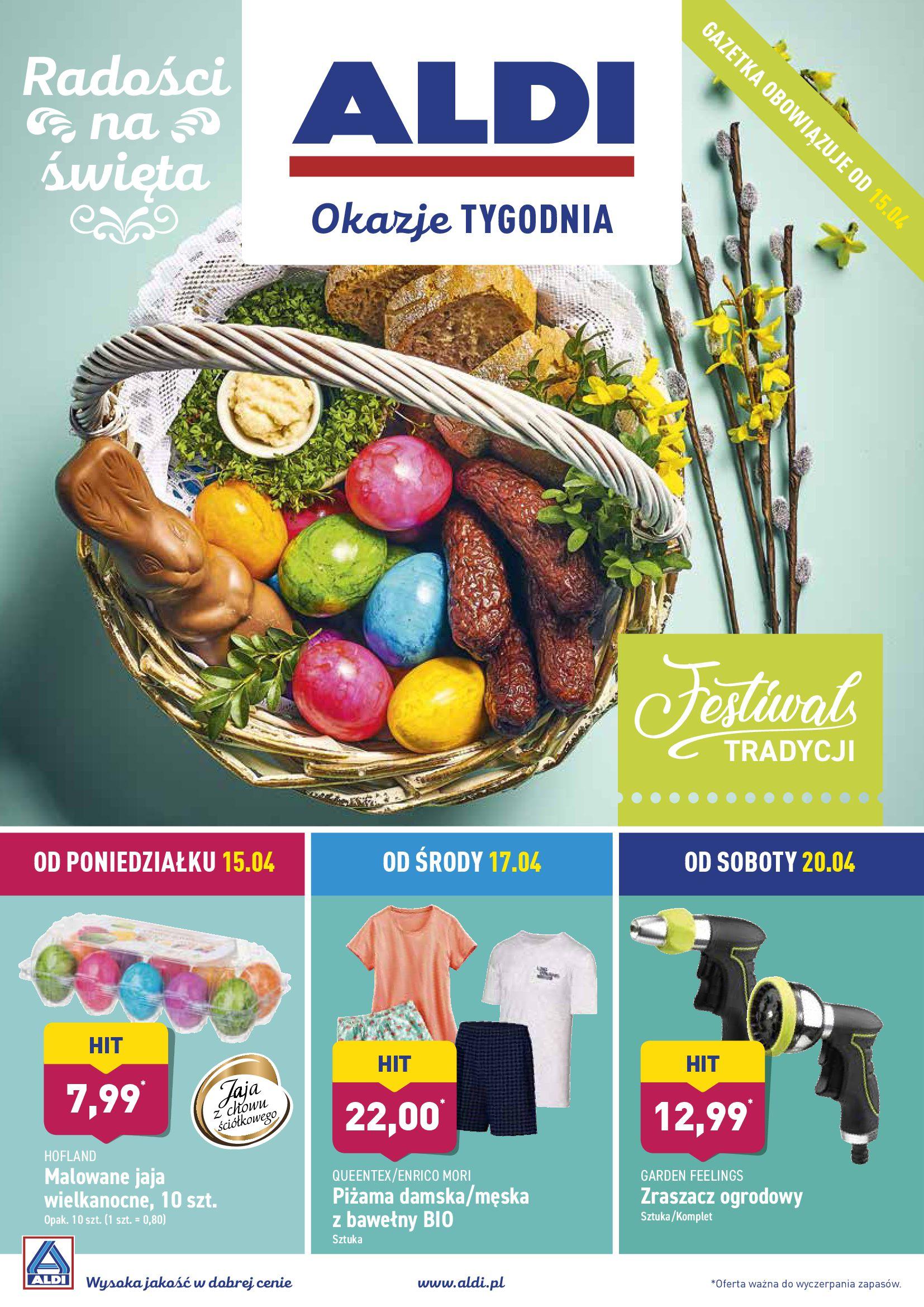 Gazetka Aldi - Radości na święta-14.04.2019-20.04.2019-page-