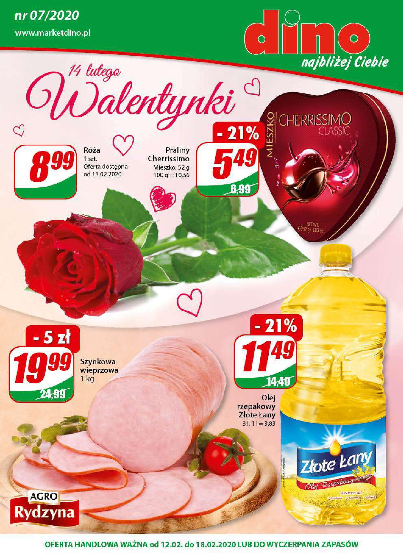 Gazetka Dino - W tym tygodniu-11.02.2020-18.02.2020-page-1