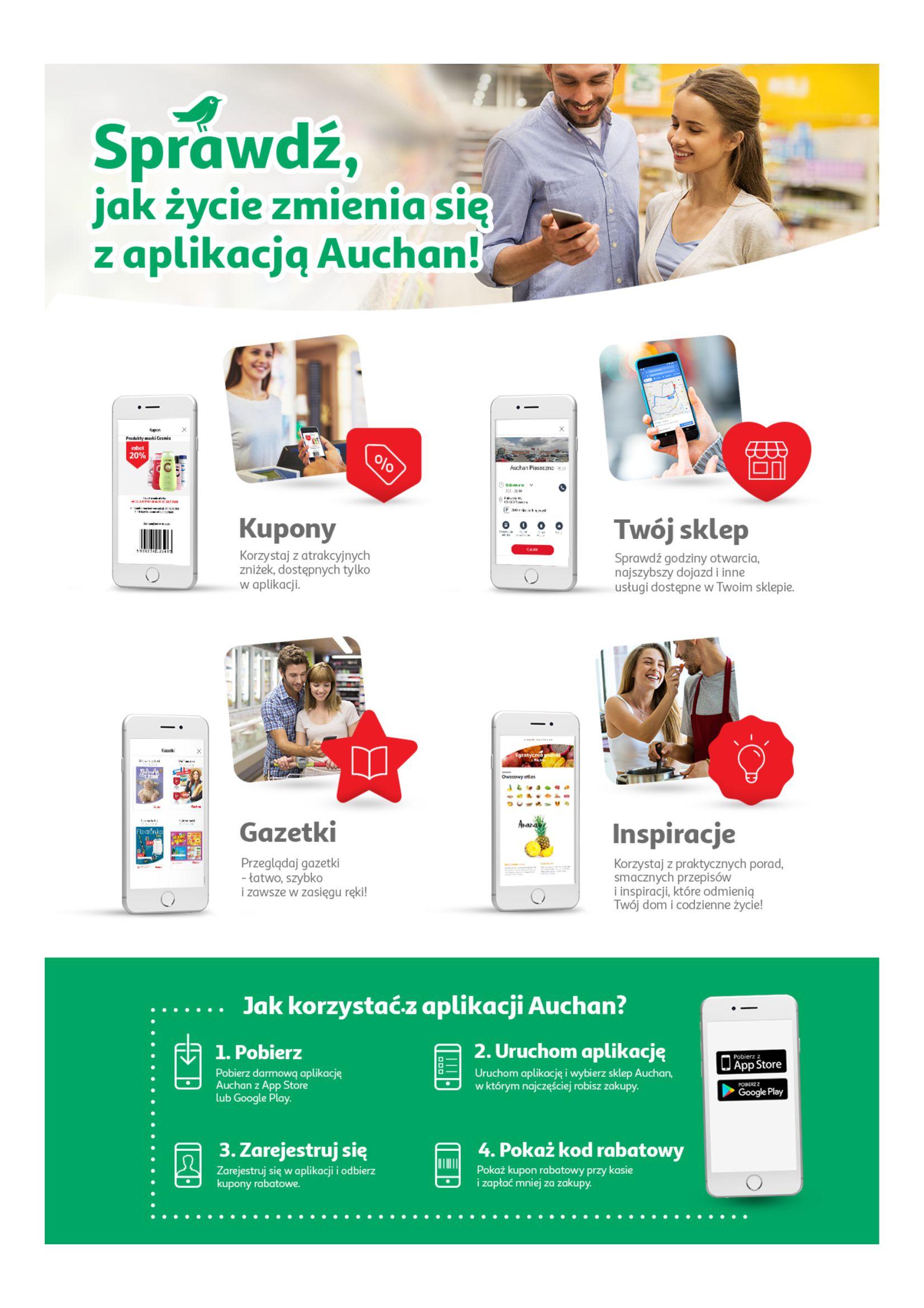 Gazetka Auchan - Taniej z aplikacją Hipermarkety-10.04.2019-16.04.2019-page-