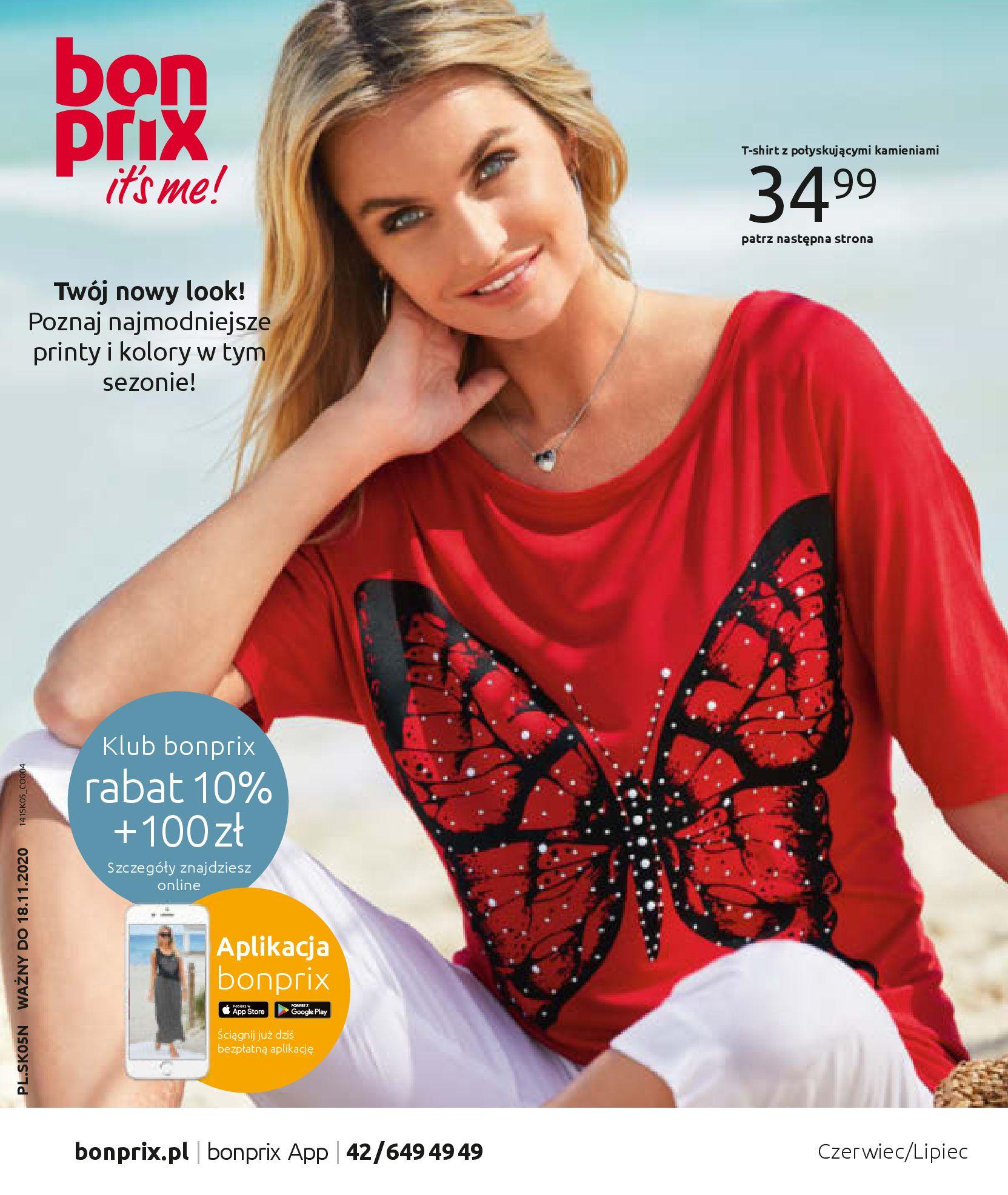 Gazetka Bonprix - Zachwycający look-25.08.2020-18.11.2020-page-1