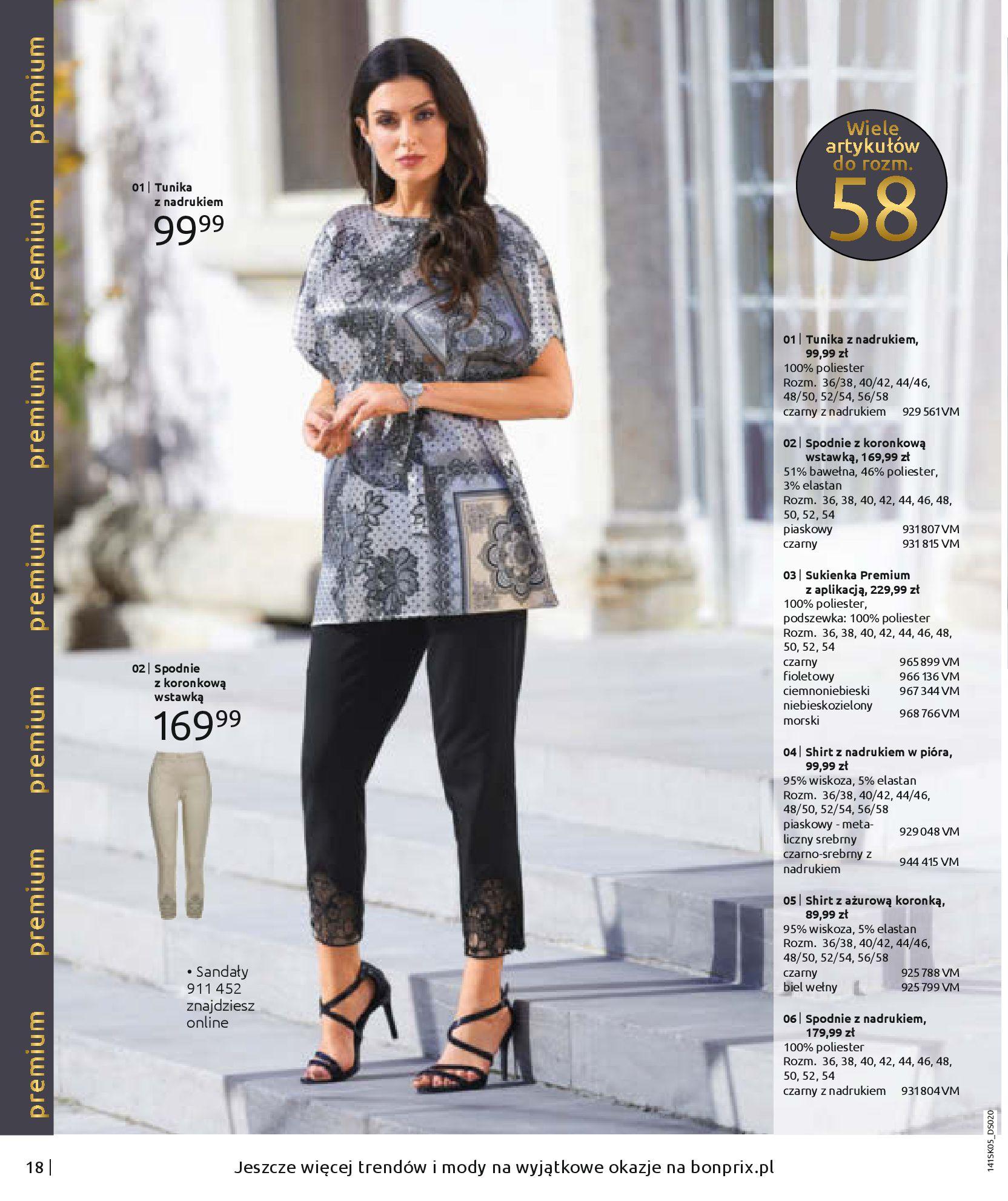 Gazetka Bonprix - Zachwycający look-25.08.2020-18.11.2020-page-20