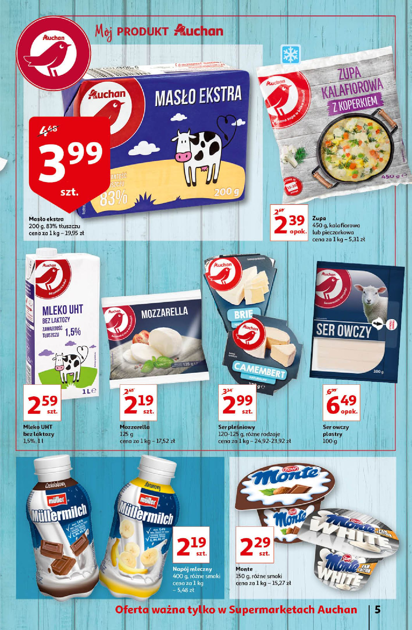 Gazetka Auchan - Oferta Auchan Supermarket 13-19.02.2020-12.02.2020-19.02.2020-page-5