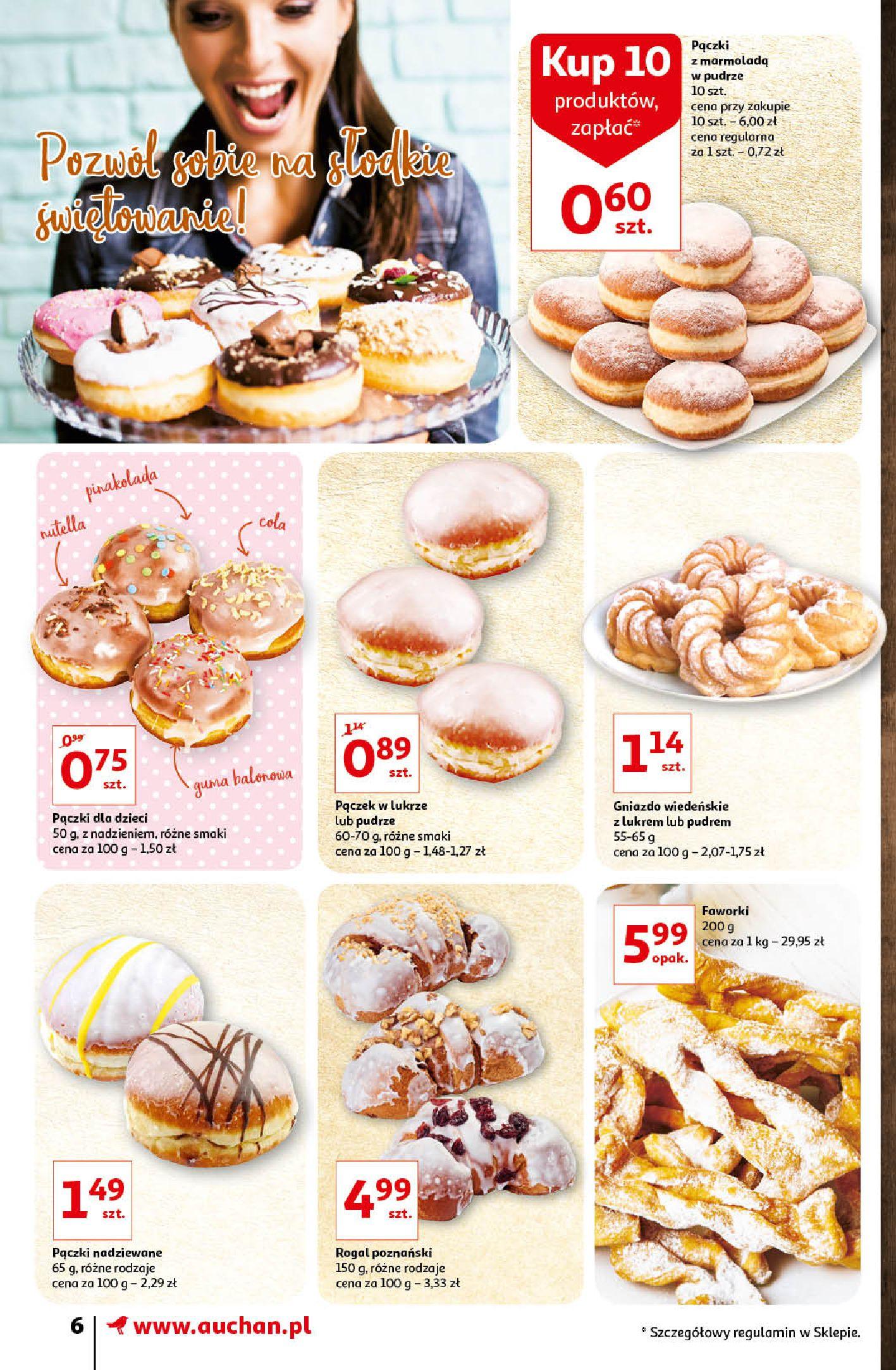 Gazetka Auchan - Oferta Auchan Supermarket 13-19.02.2020-12.02.2020-19.02.2020-page-6