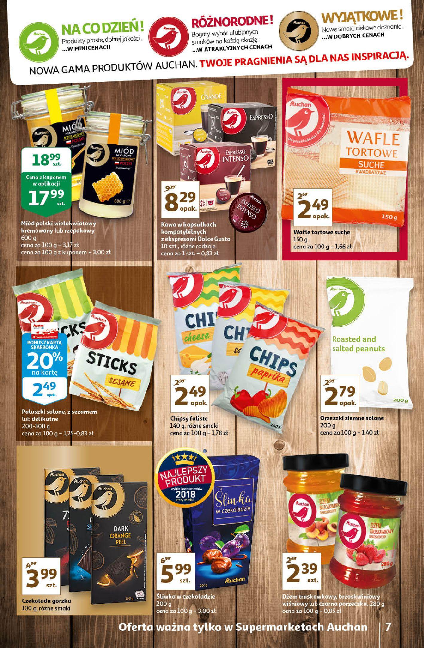 Gazetka Auchan - Oferta Auchan Supermarket 13-19.02.2020-12.02.2020-19.02.2020-page-7