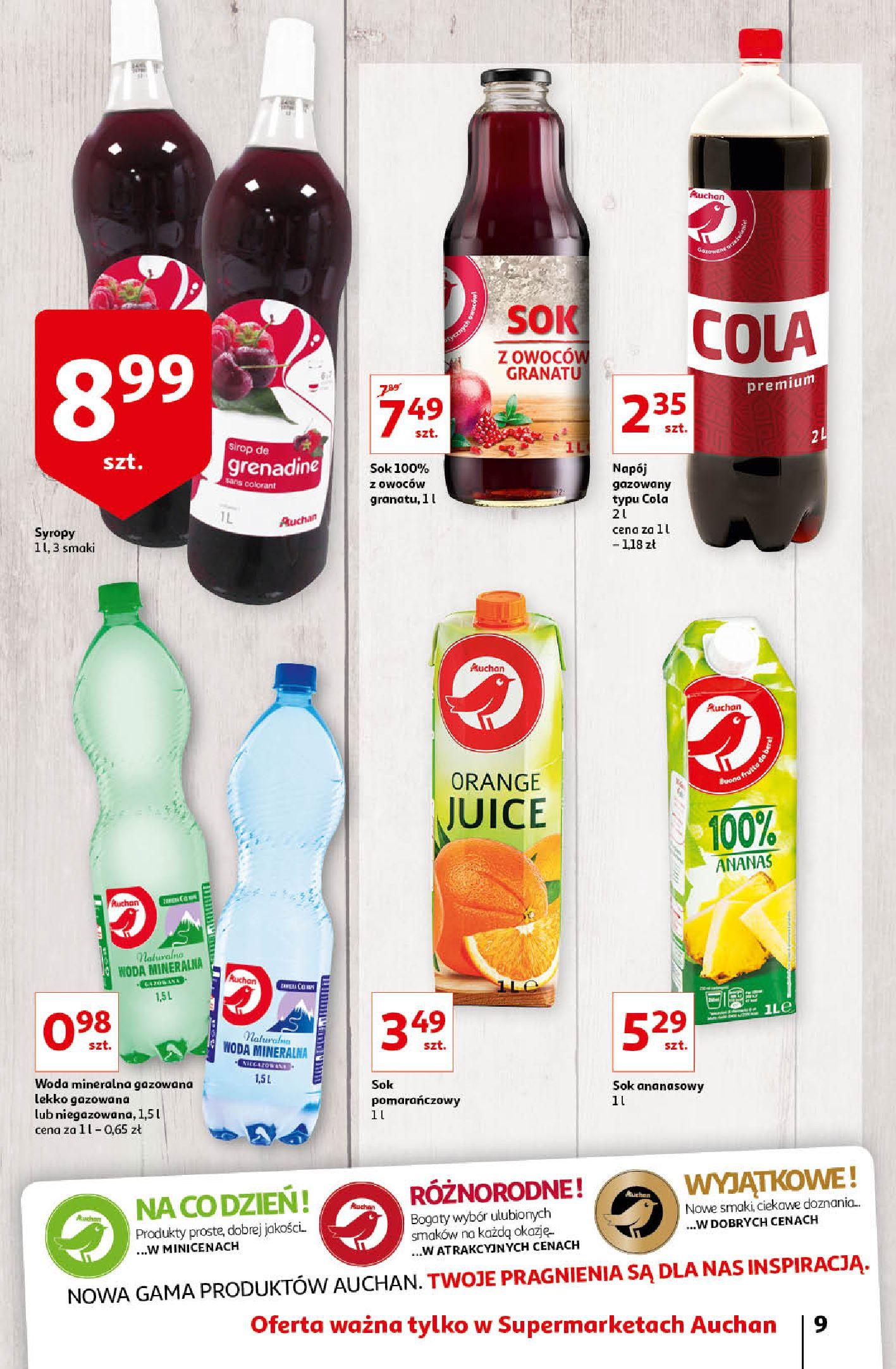 Gazetka Auchan - Oferta Auchan Supermarket 13-19.02.2020-12.02.2020-19.02.2020-page-9