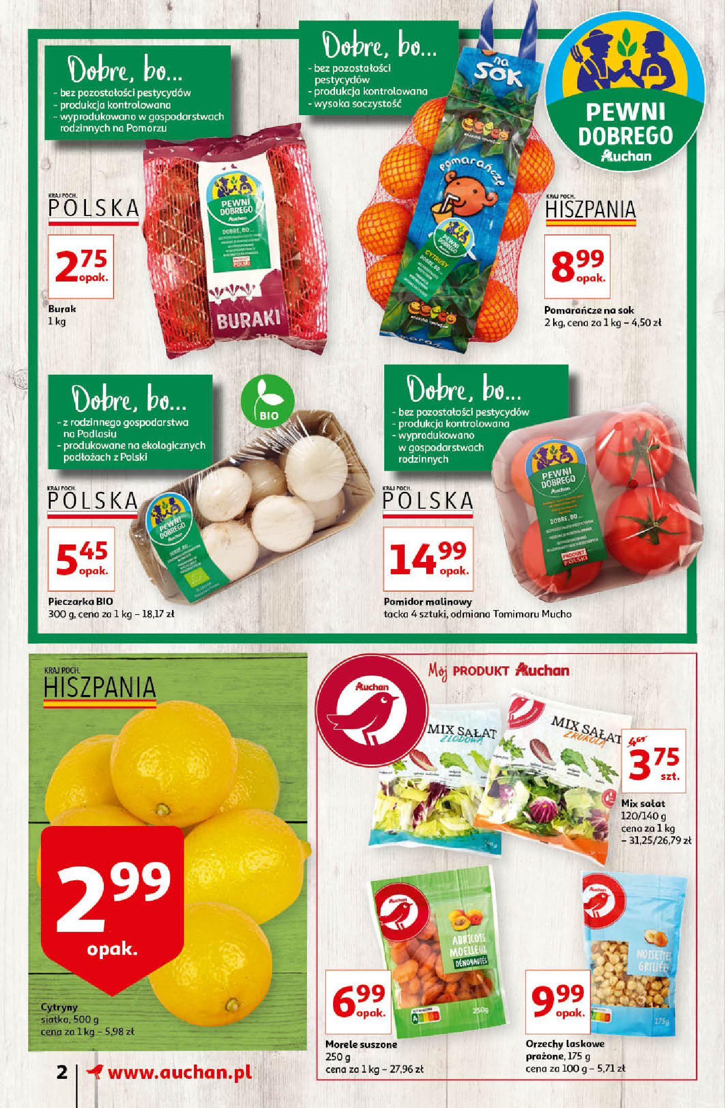 Gazetka Auchan - Oferta Auchan Supermarket 13-19.02.2020-12.02.2020-19.02.2020-page-2
