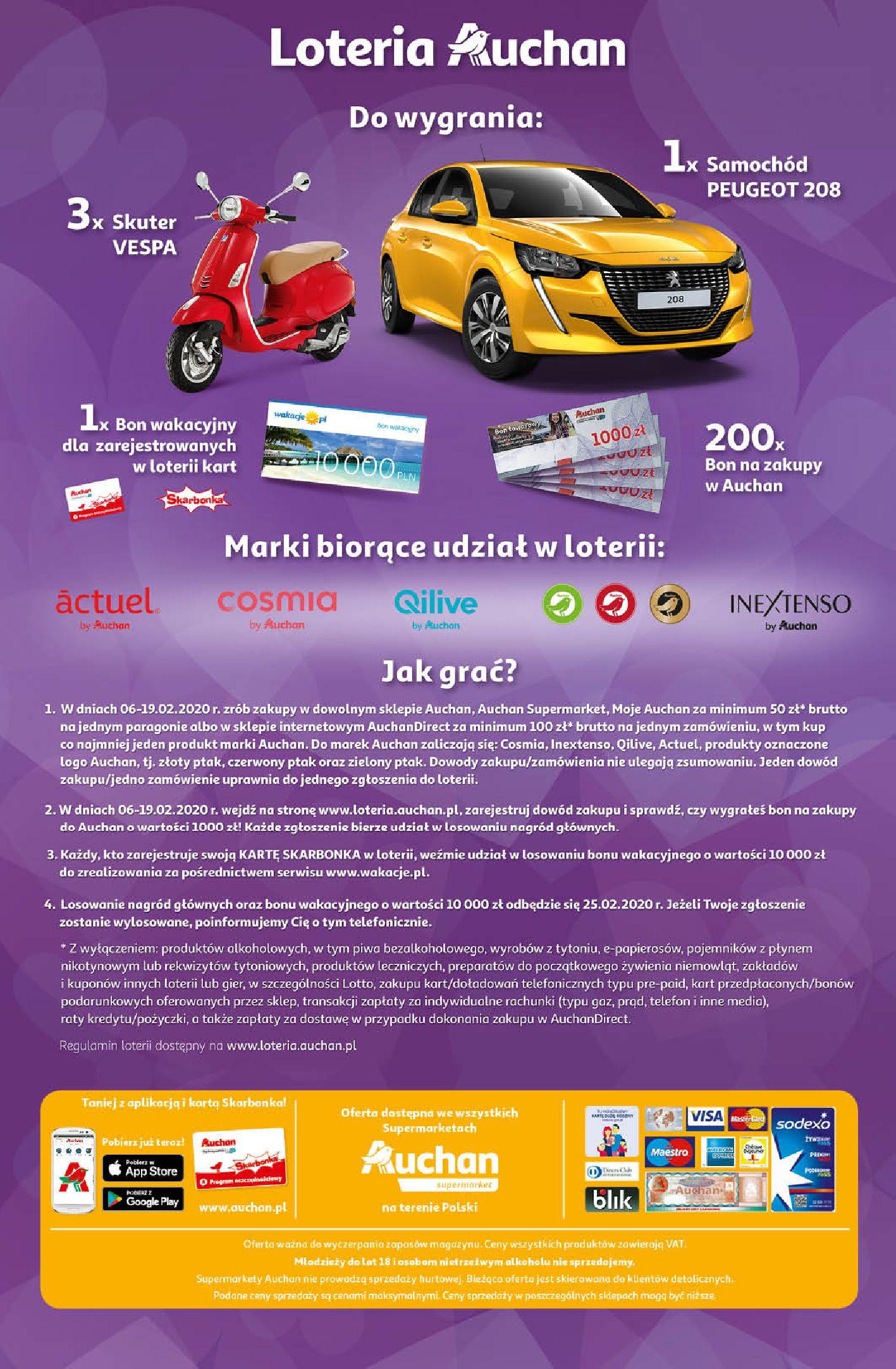 Gazetka Auchan - Oferta Auchan Supermarket 13-19.02.2020-12.02.2020-19.02.2020-page-12