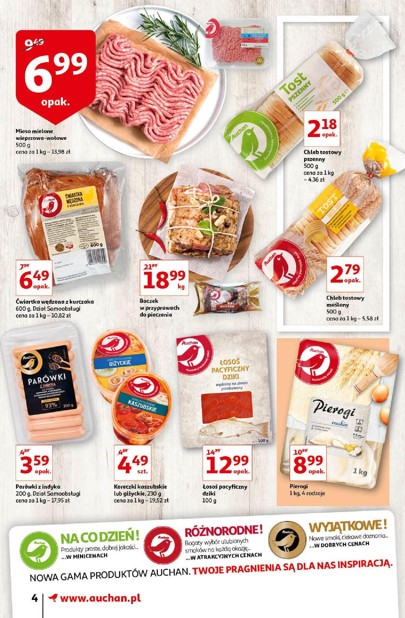 Gazetka Auchan - Oferta Auchan Supermarket 13-19.02.2020-12.02.2020-19.02.2020-page-4