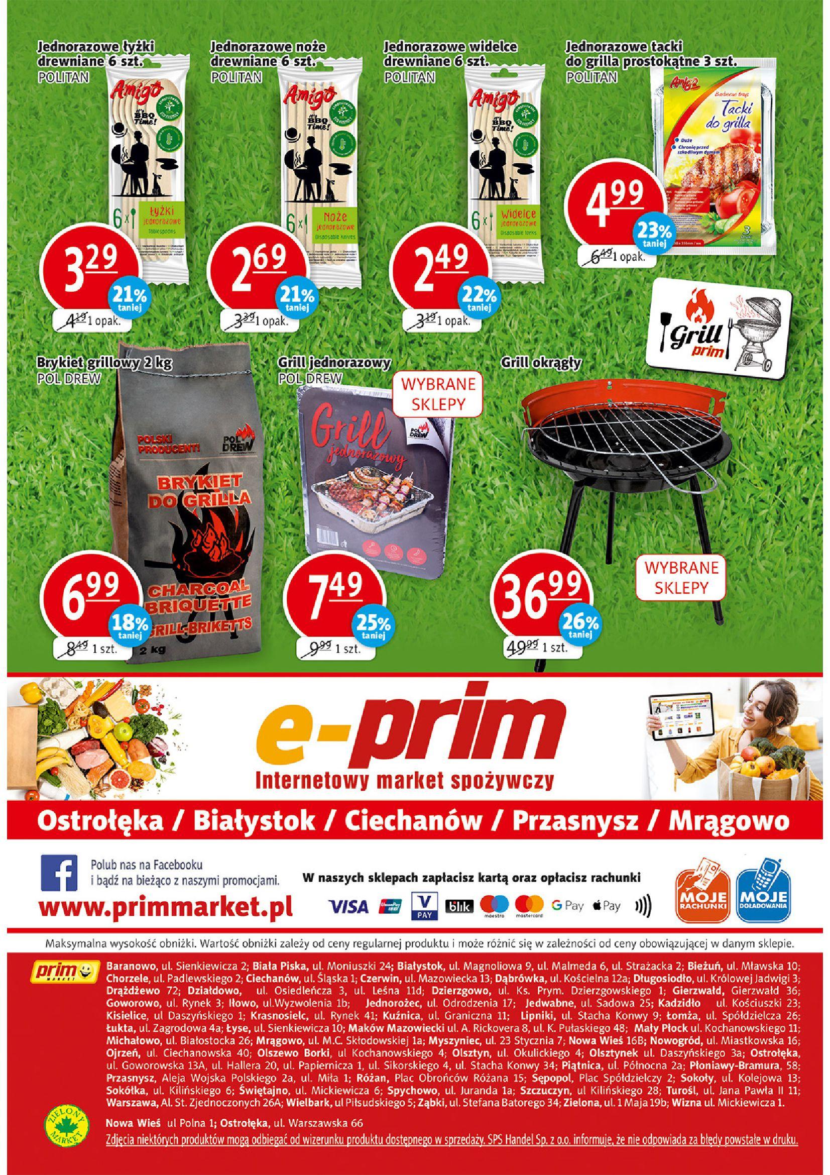 Gazetka PRIM MARKET: Gazetka PRIM MARKET 22-28.07 2021-07-22 page-16