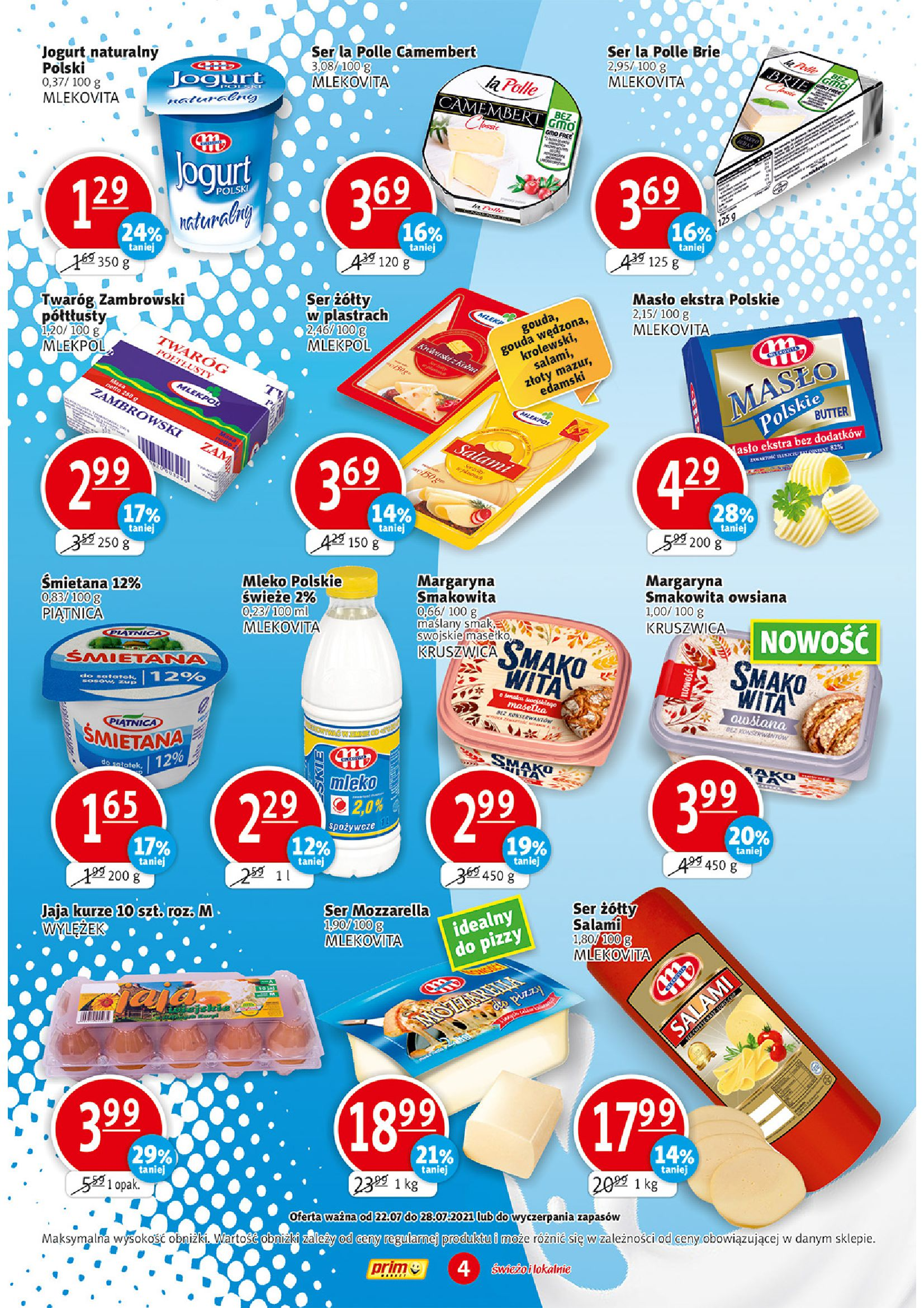 Gazetka PRIM MARKET: Gazetka PRIM MARKET 22-28.07 2021-07-22 page-4