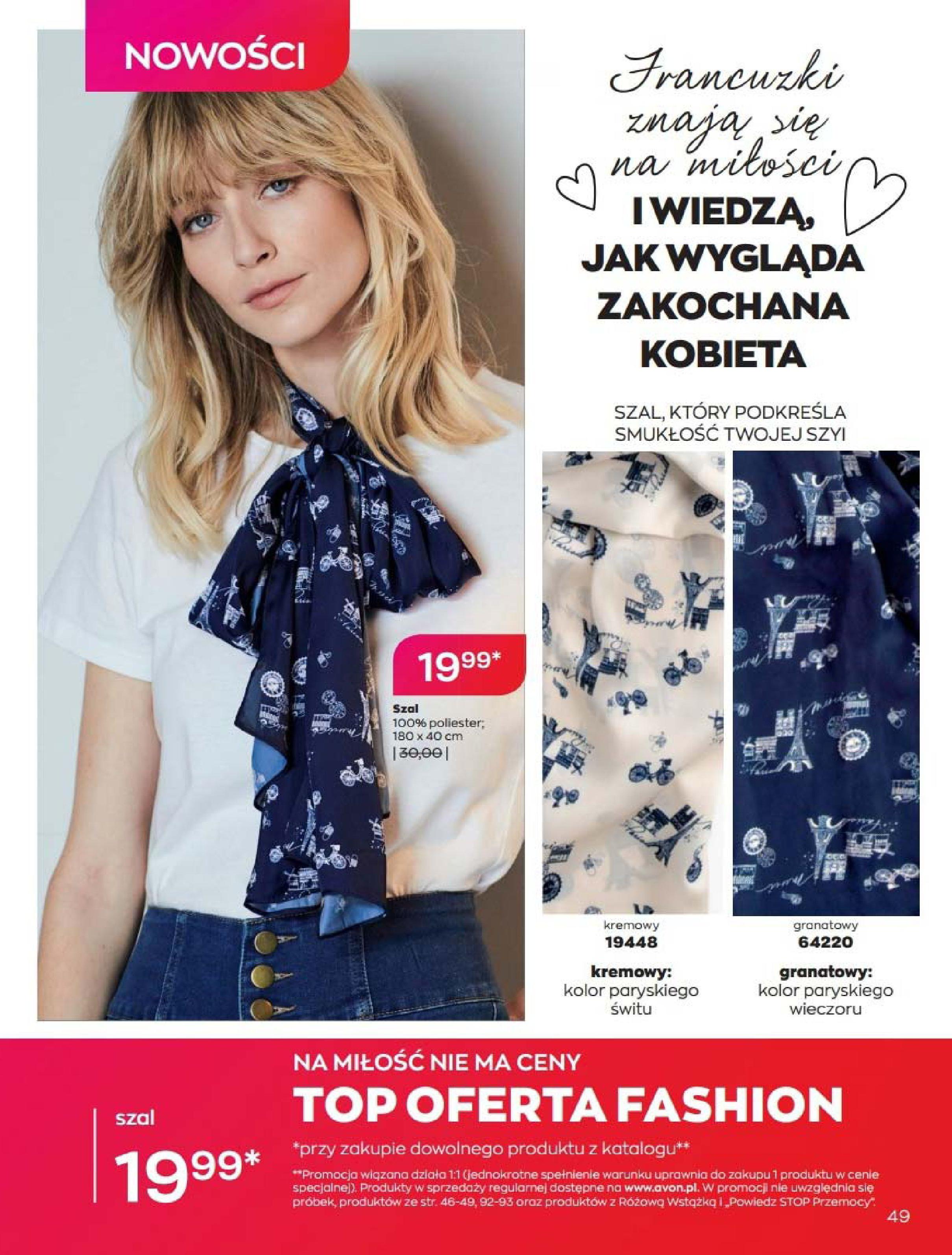 Gazetka Avon: Katalog Luty 2021 2021-02-01 page-49