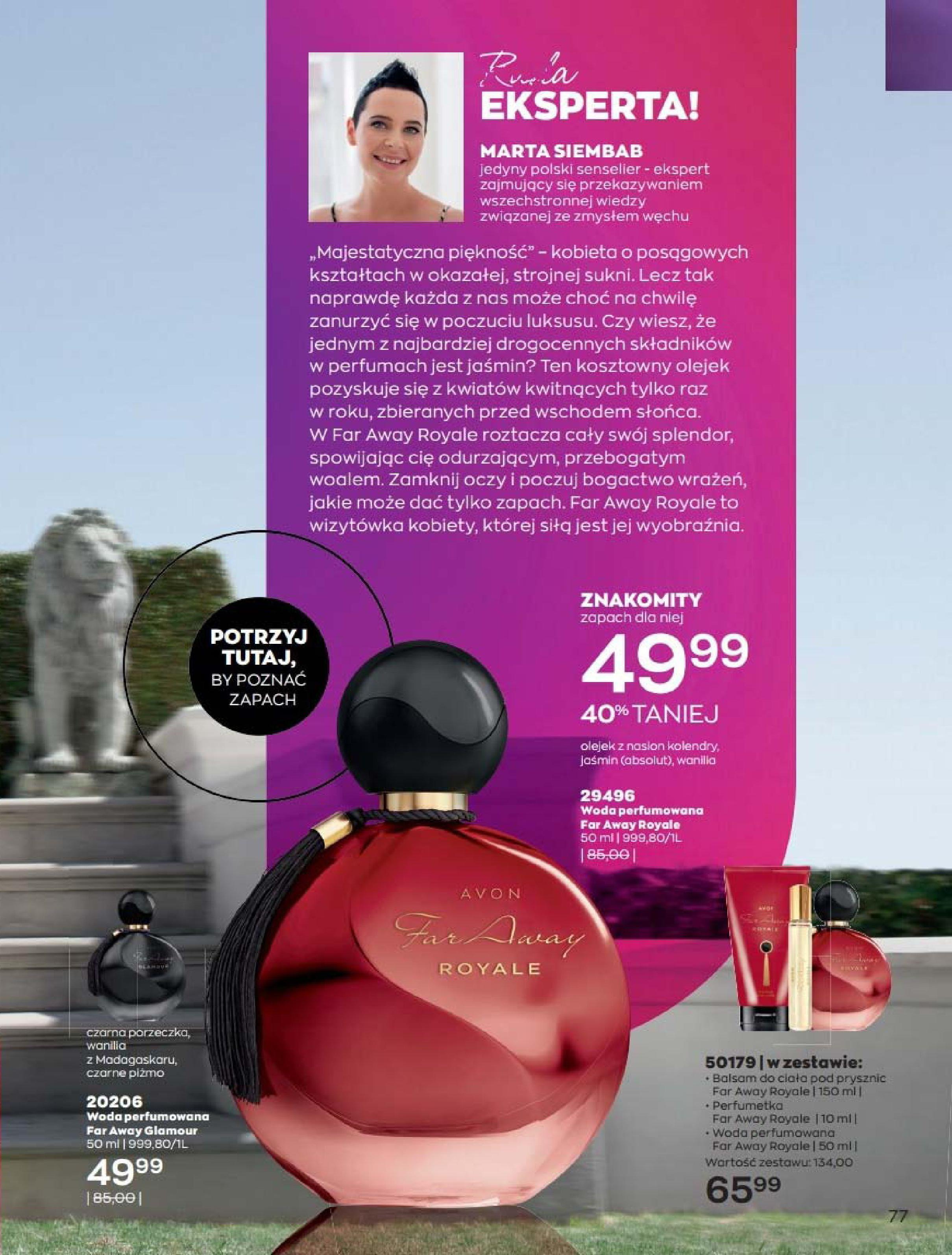 Gazetka Avon: Katalog Luty 2021 2021-02-01 page-77