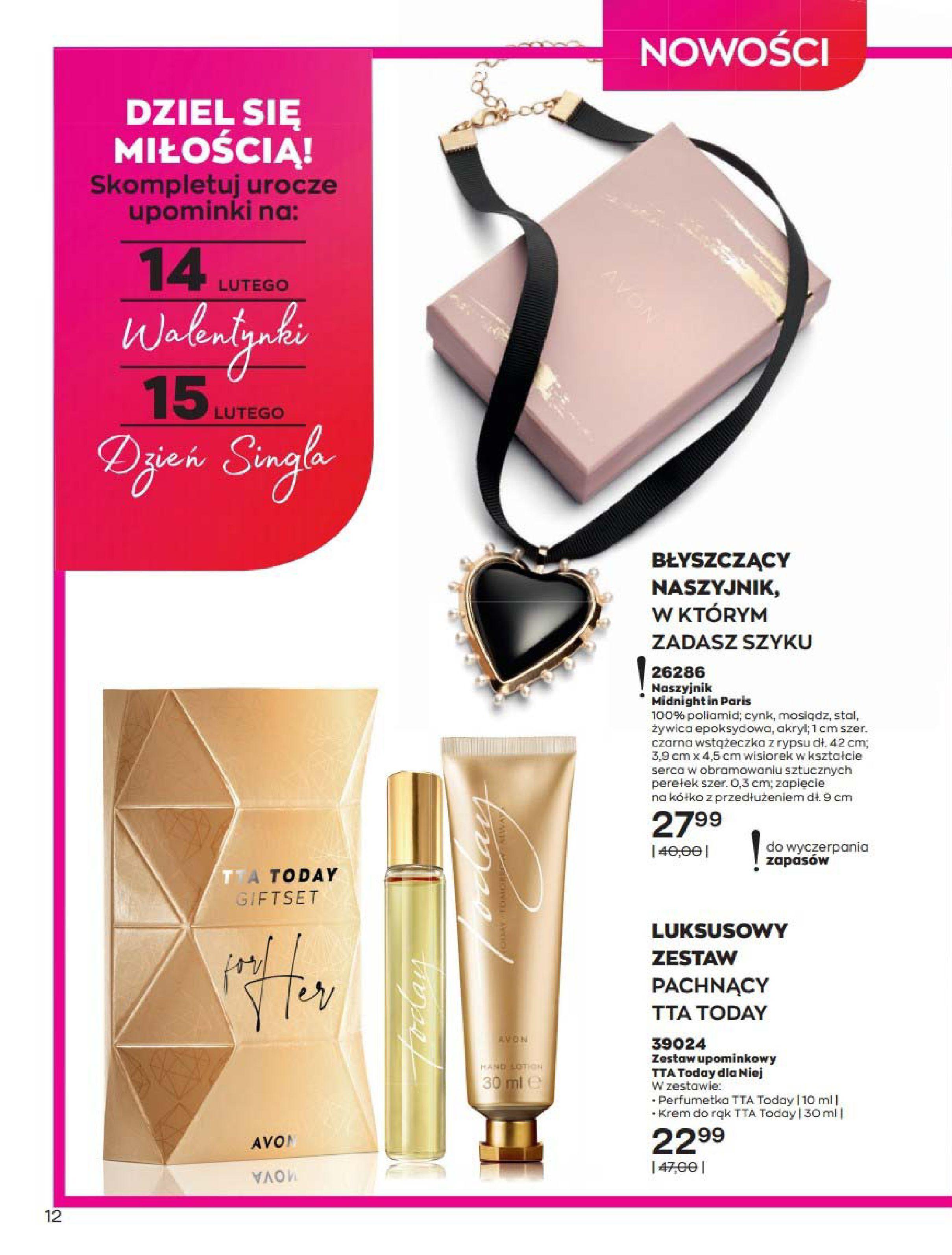 Gazetka Avon: Katalog Luty 2021 2021-02-01 page-12
