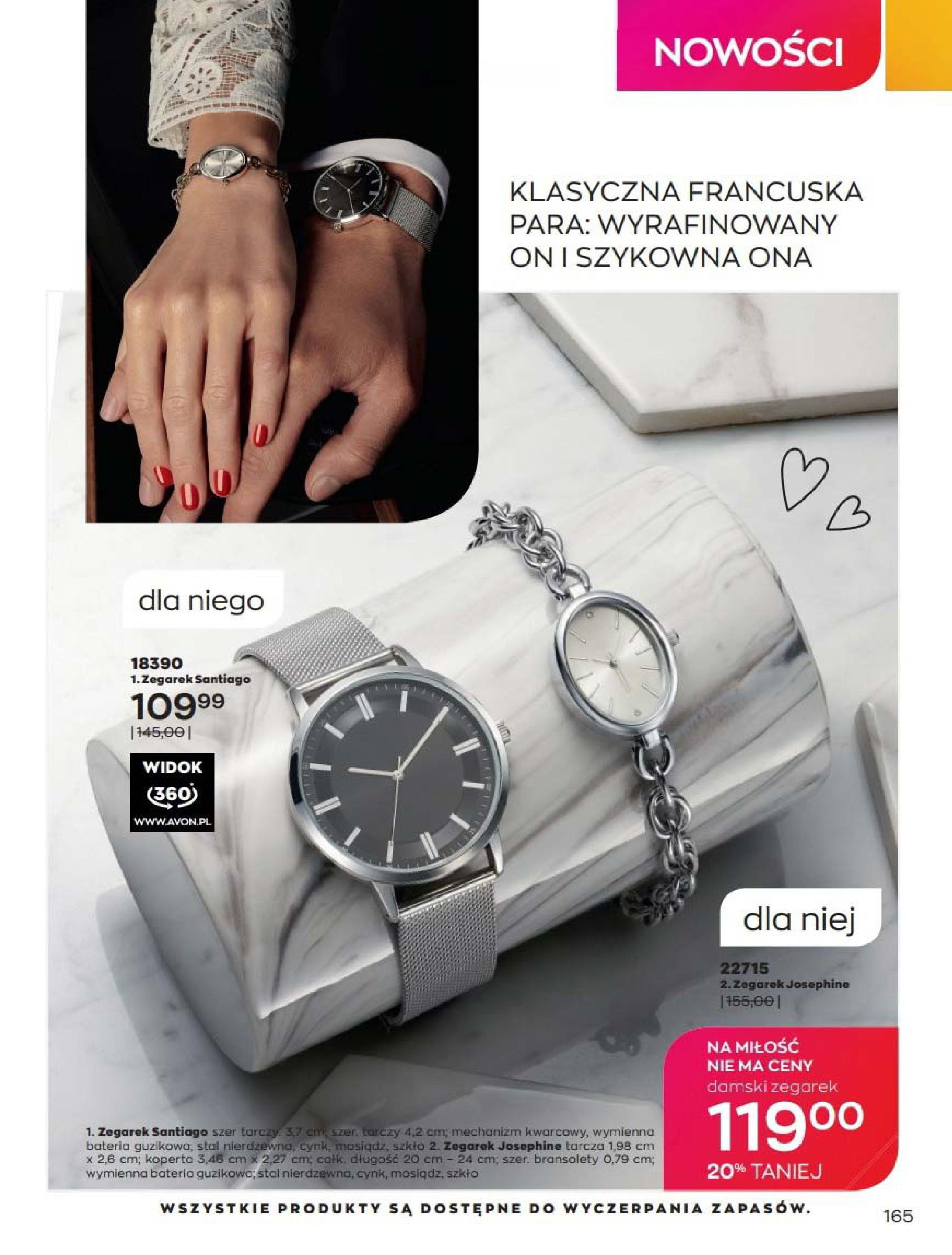 Gazetka Avon: Katalog Luty 2021 2021-02-01 page-165
