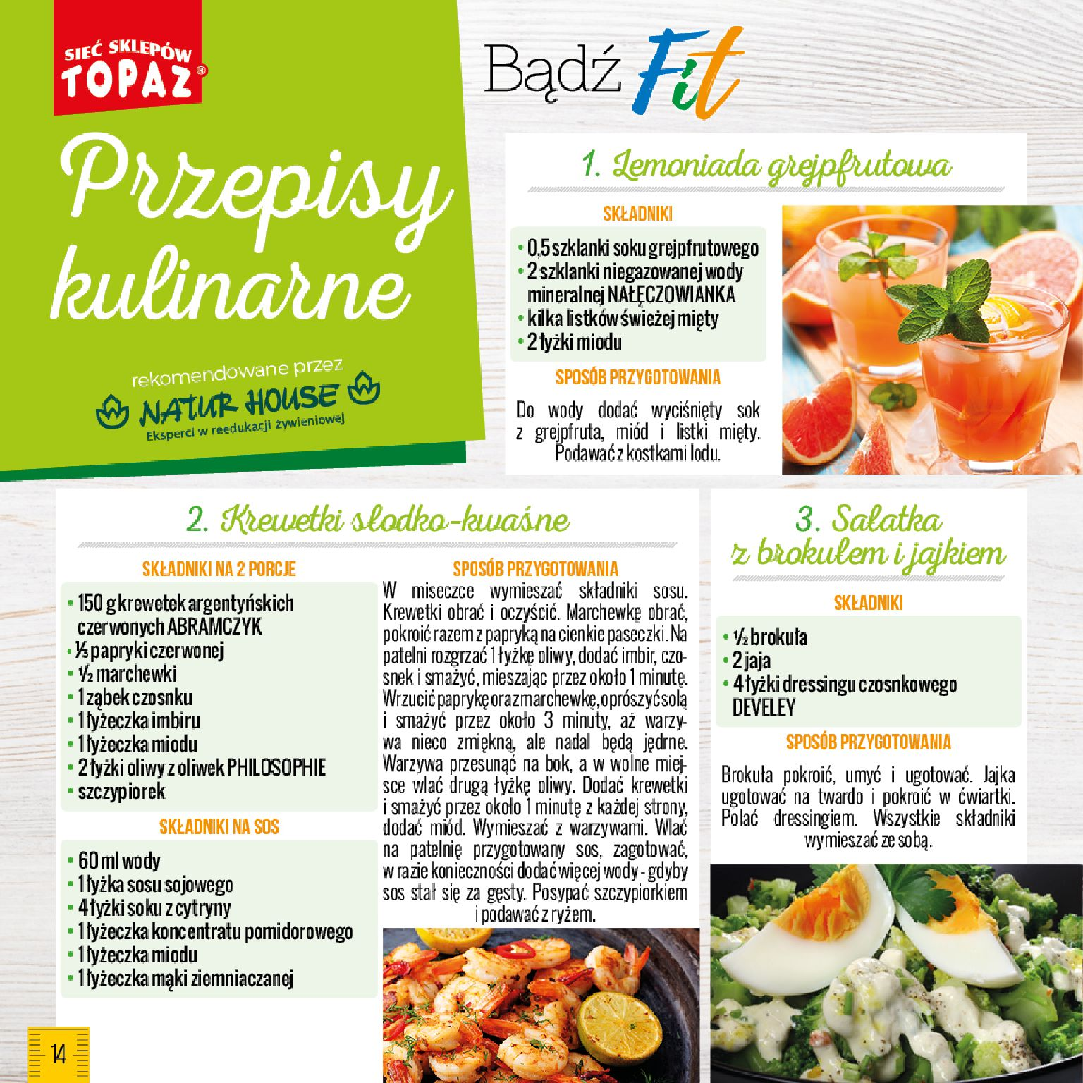 Gazetka TOPAZ - Bądź Fit-26.05.2019-01.07.2019-page-