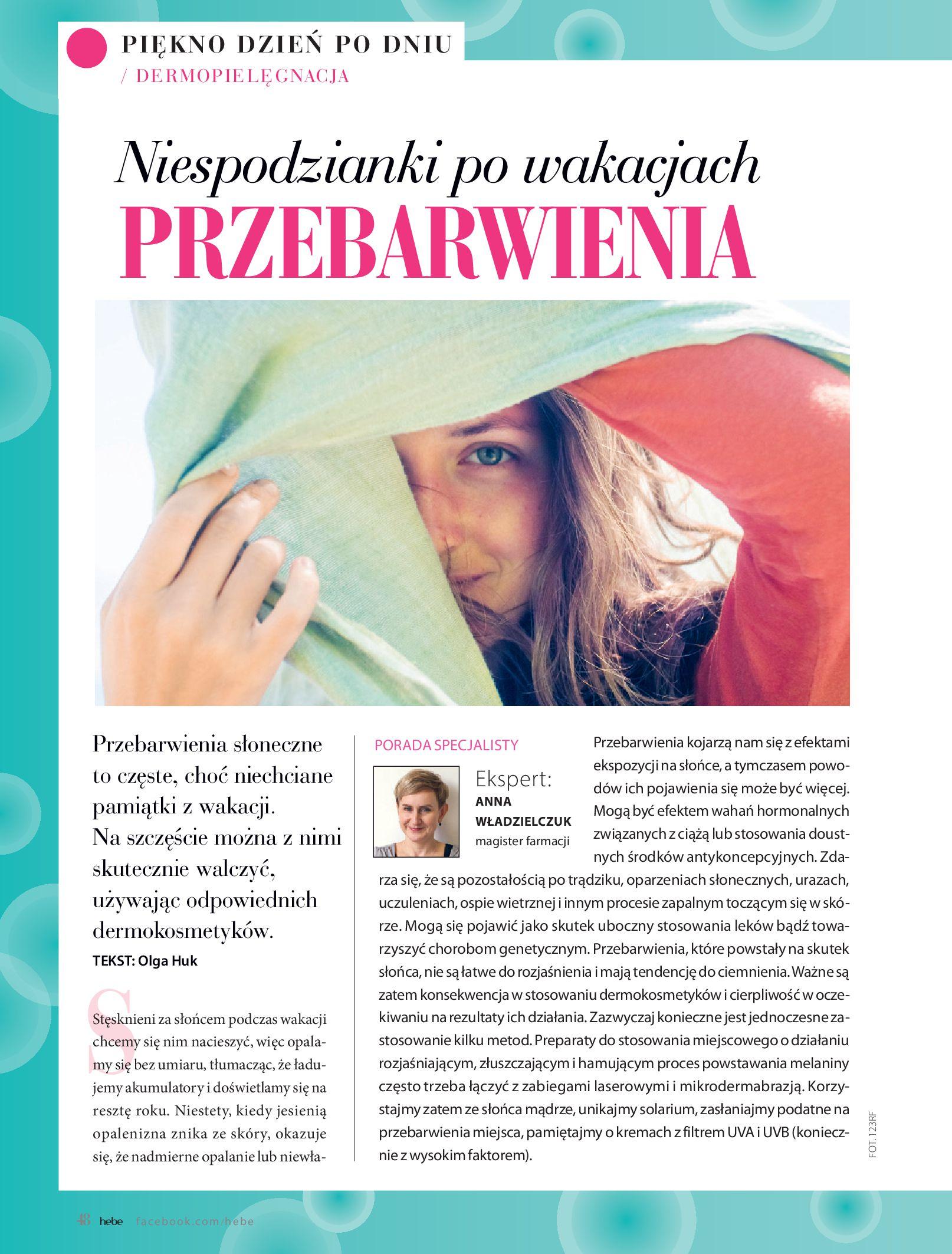 Gazetka hebe: Magazyn hebe - TURBO nawilżanie po urlopie 2021-09-01 page-48
