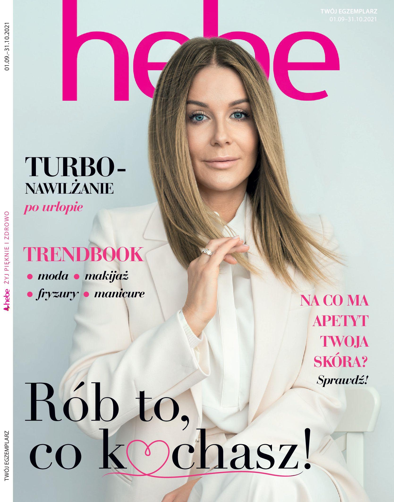 Gazetka hebe: Magazyn hebe - TURBO nawilżanie po urlopie 2021-09-01 page-1