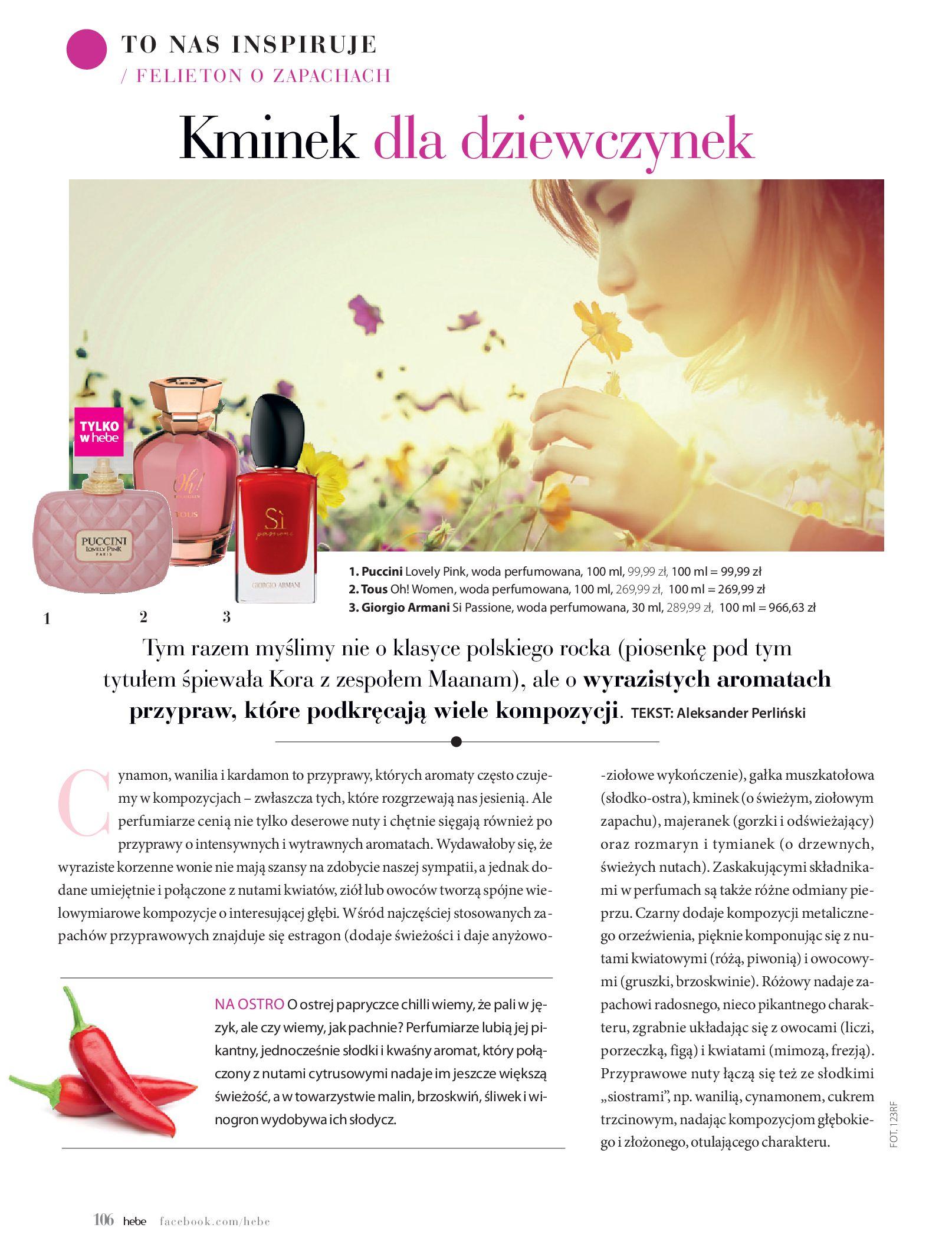 Gazetka hebe: Magazyn hebe - TURBO nawilżanie po urlopie 2021-09-01 page-106