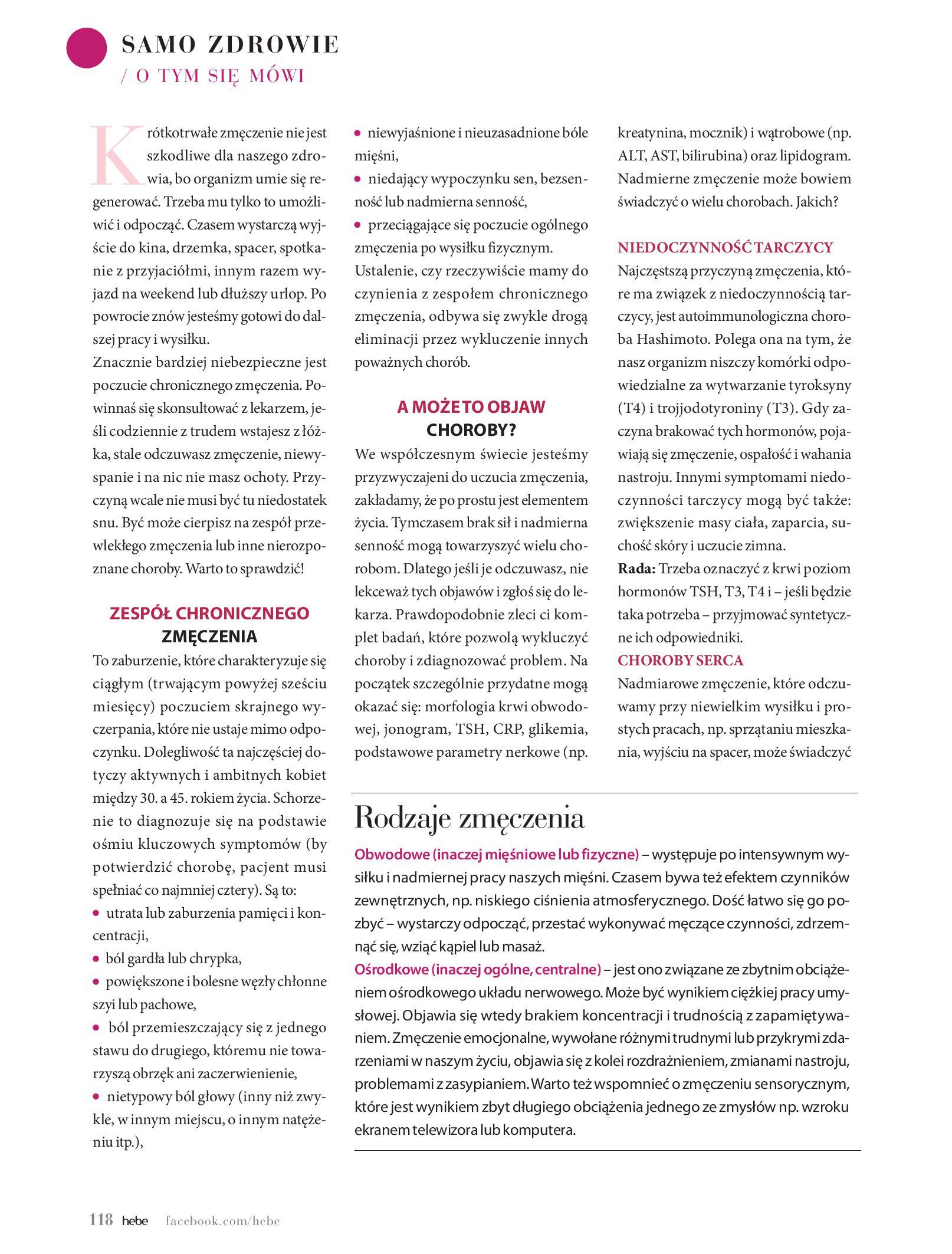 Gazetka hebe: Magazyn hebe - TURBO nawilżanie po urlopie 2021-09-01 page-118