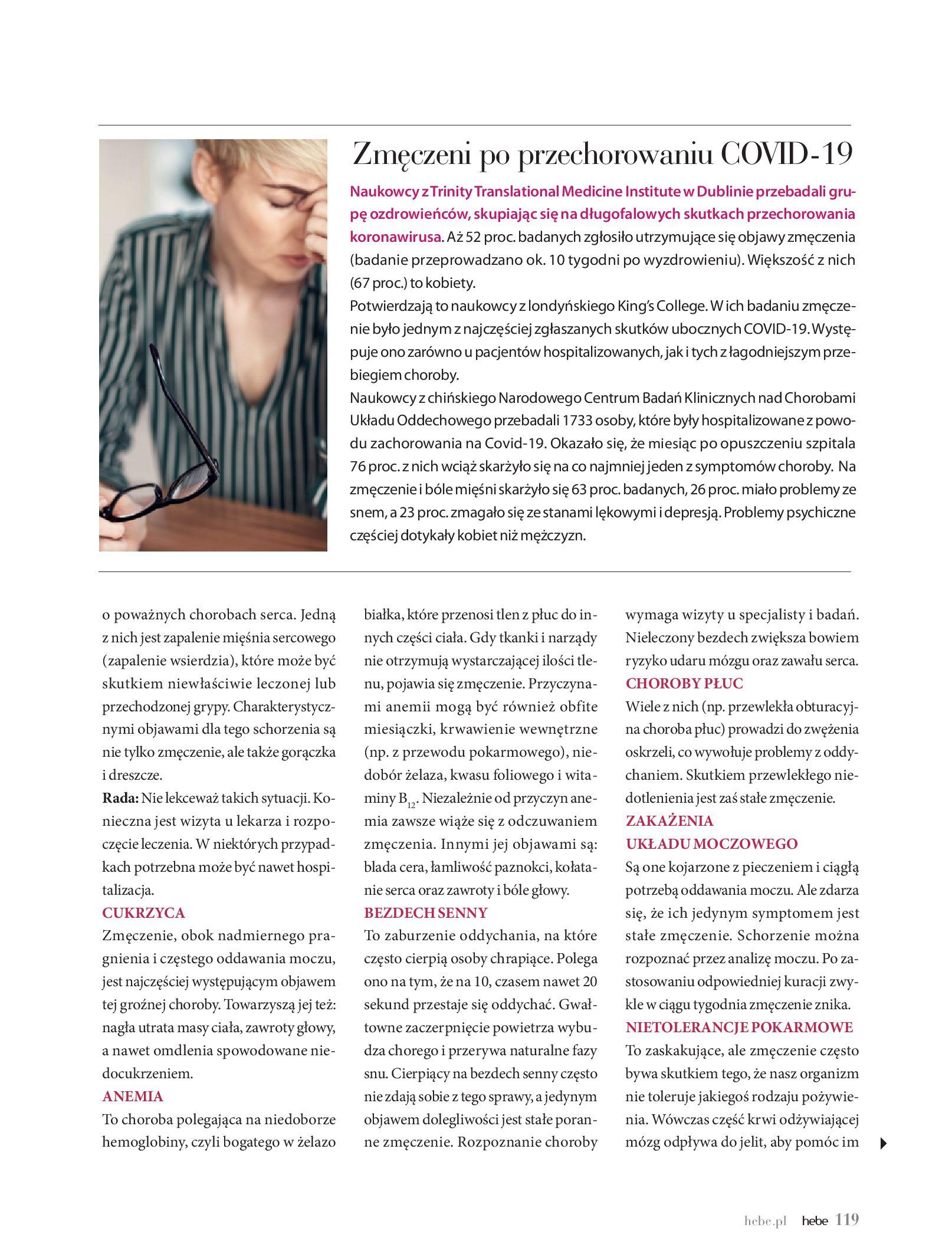 Gazetka hebe: Magazyn hebe - TURBO nawilżanie po urlopie 2021-09-01 page-119