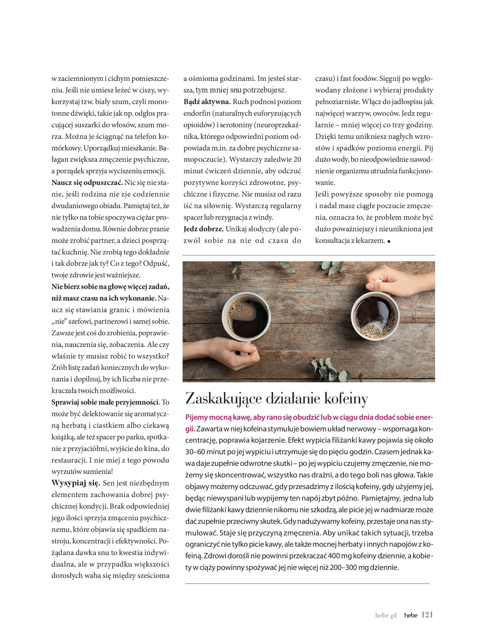 Gazetka hebe: Magazyn hebe - TURBO nawilżanie po urlopie 2021-09-01 page-121