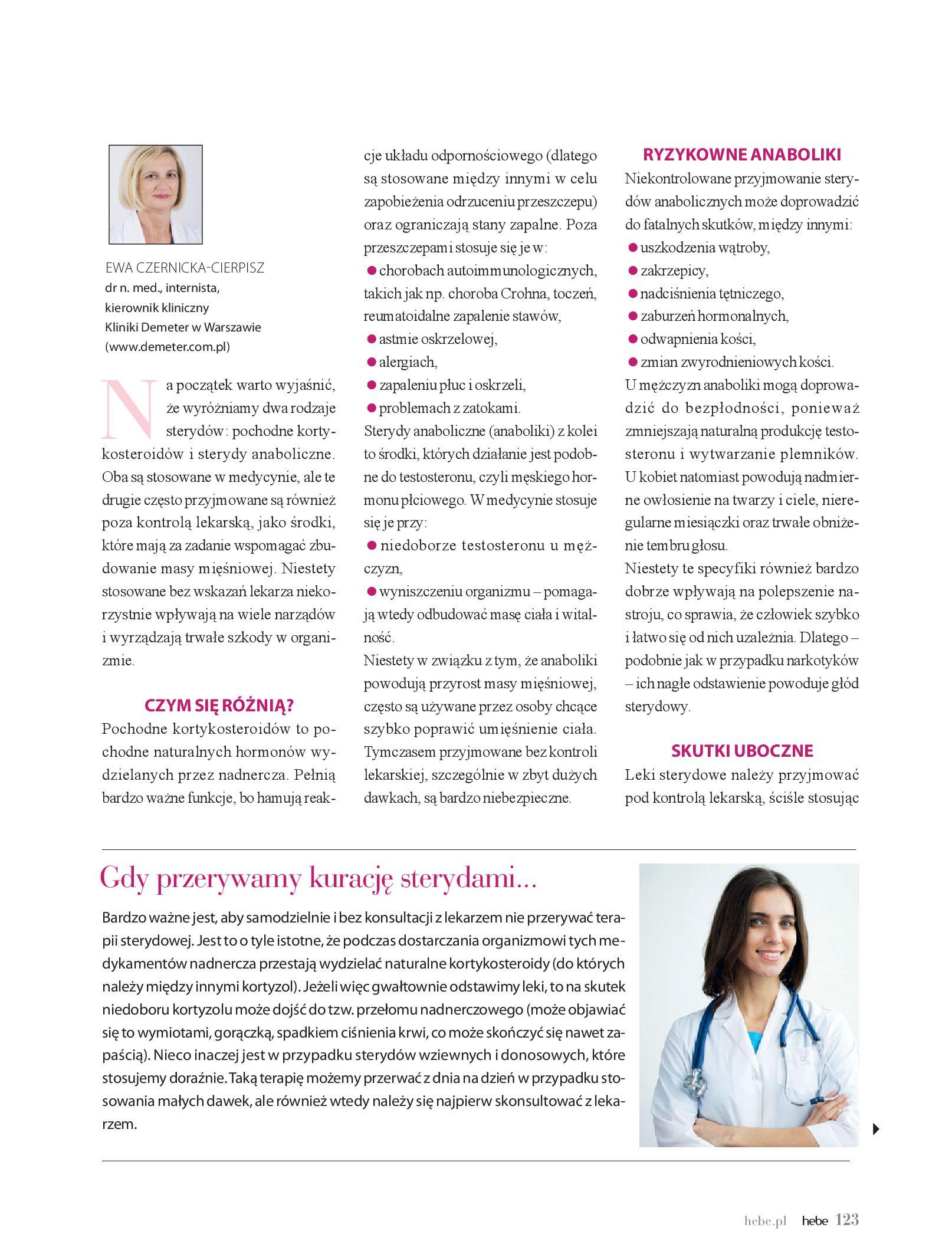 Gazetka hebe: Magazyn hebe - TURBO nawilżanie po urlopie 2021-09-01 page-123