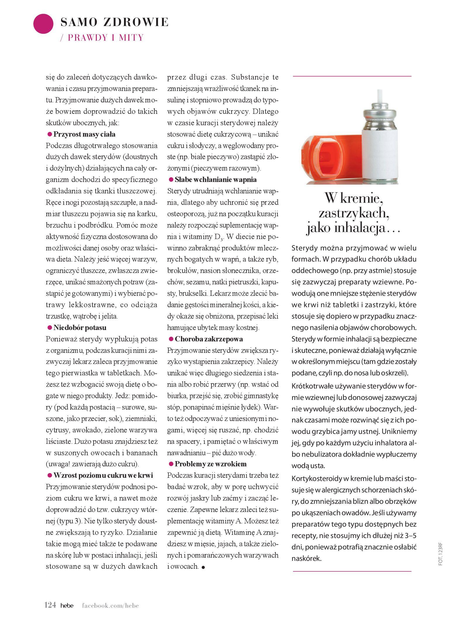 Gazetka hebe: Magazyn hebe - TURBO nawilżanie po urlopie 2021-09-01 page-124