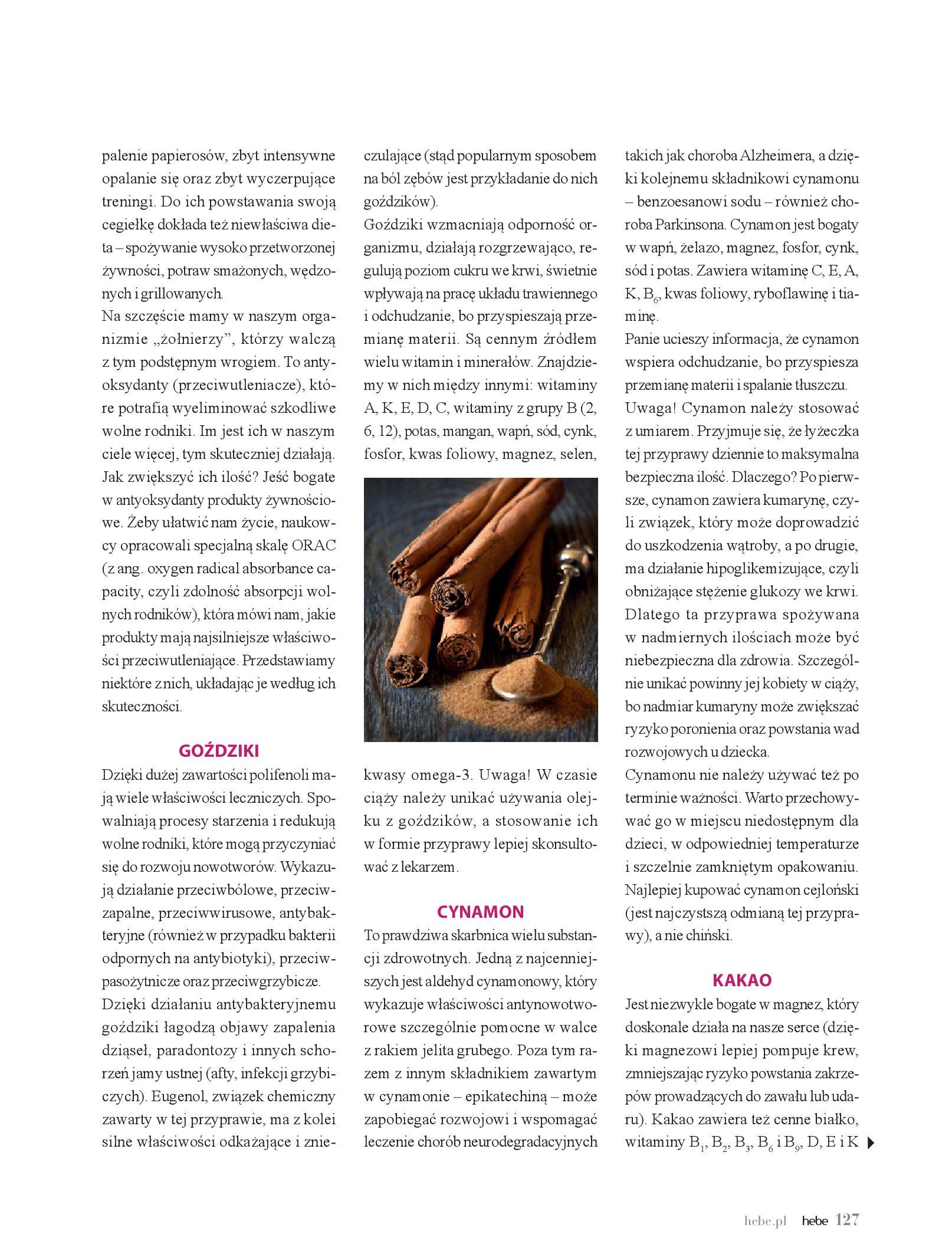 Gazetka hebe: Magazyn hebe - TURBO nawilżanie po urlopie 2021-09-01 page-127