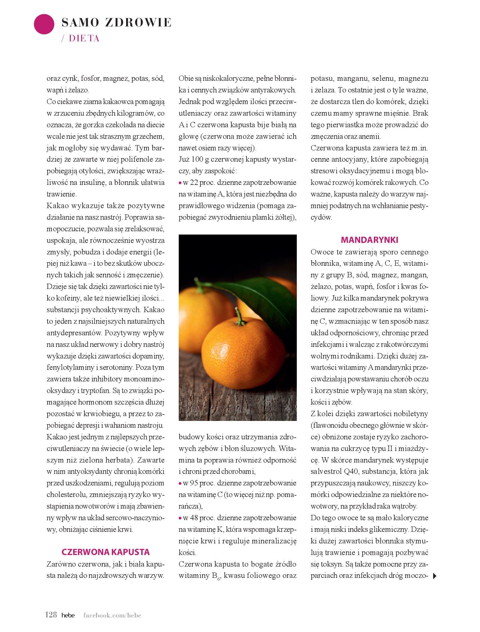 Gazetka hebe: Magazyn hebe - TURBO nawilżanie po urlopie 2021-09-01 page-128