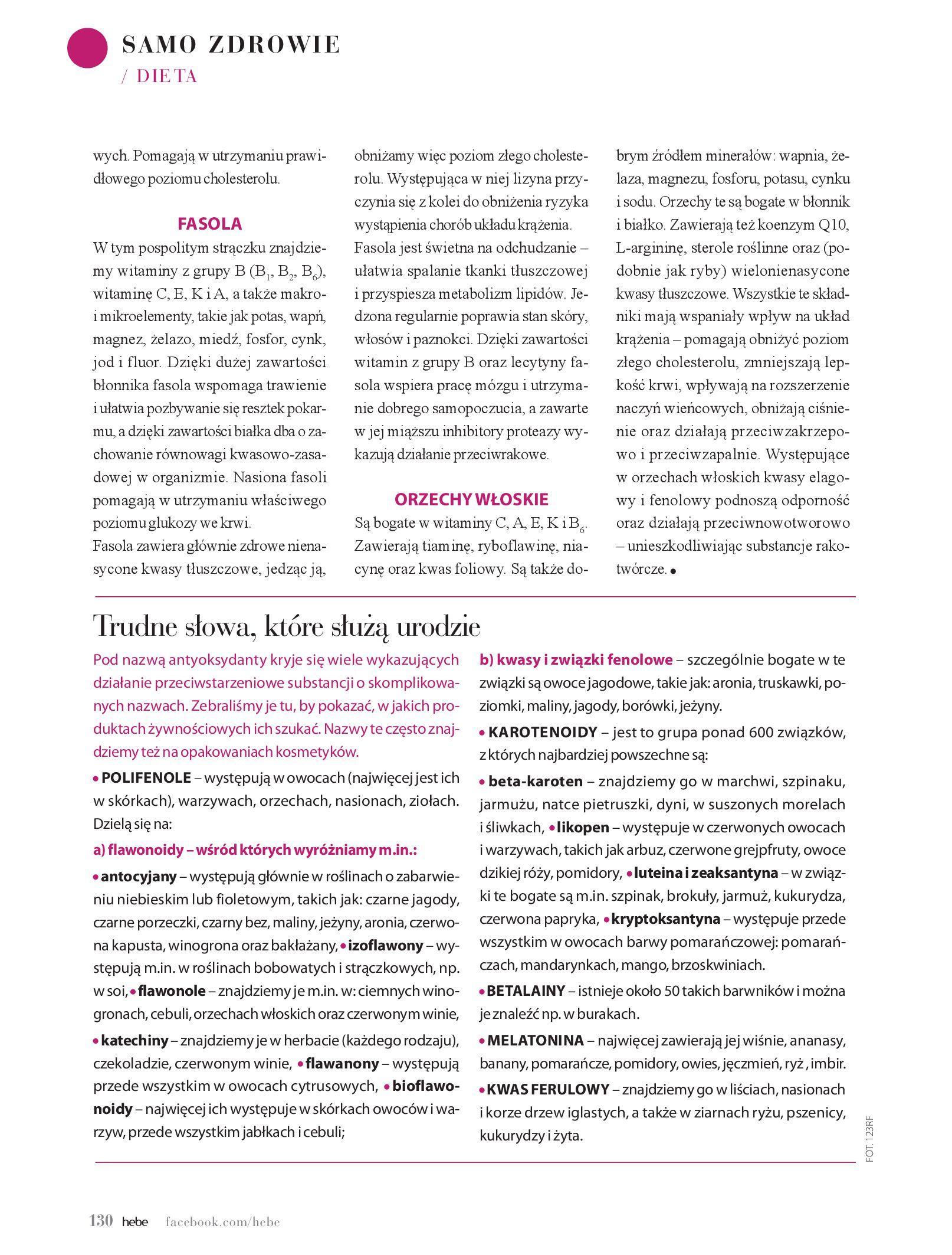 Gazetka hebe: Magazyn hebe - TURBO nawilżanie po urlopie 2021-09-01 page-130