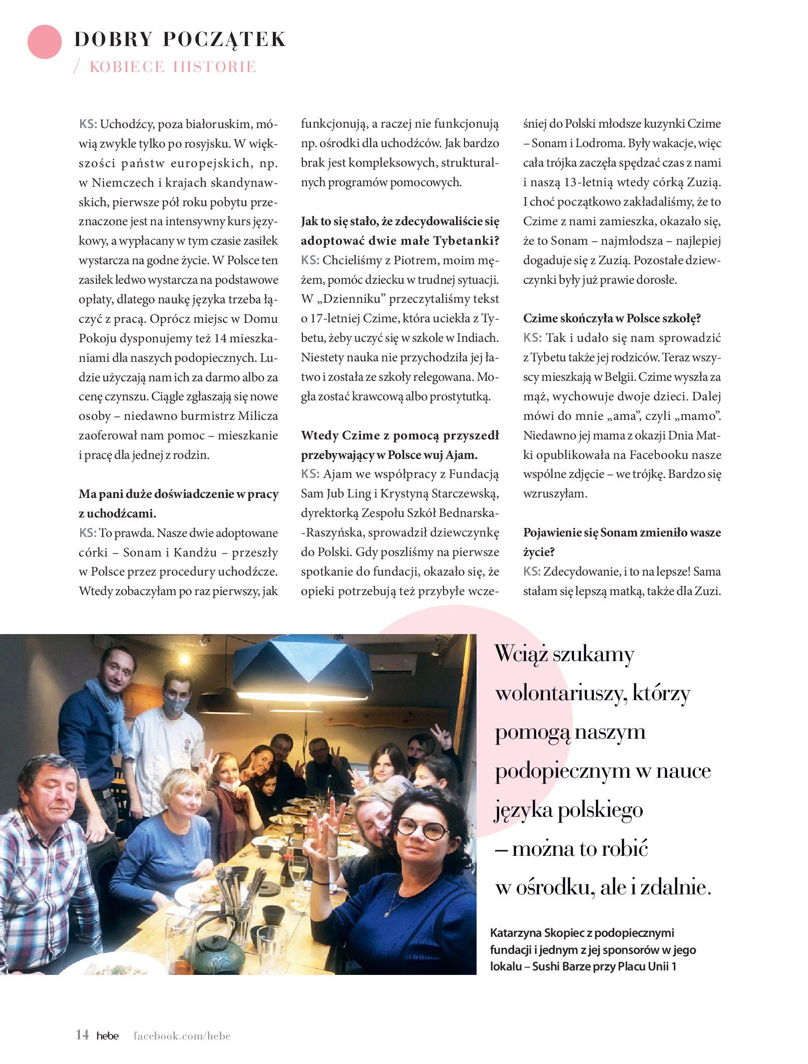 Gazetka hebe: Magazyn hebe - TURBO nawilżanie po urlopie 2021-09-01 page-14
