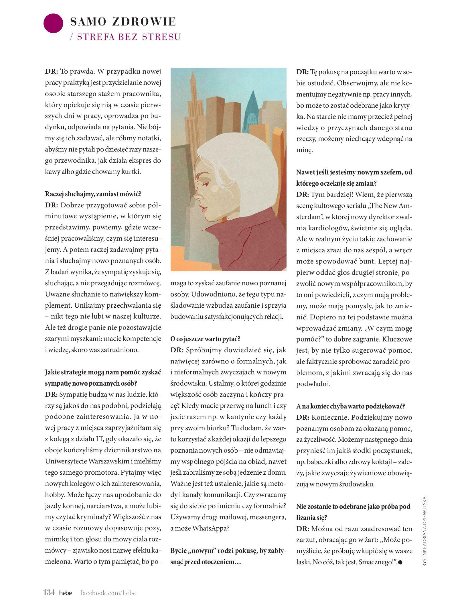Gazetka hebe: Magazyn hebe - TURBO nawilżanie po urlopie 2021-09-01 page-134