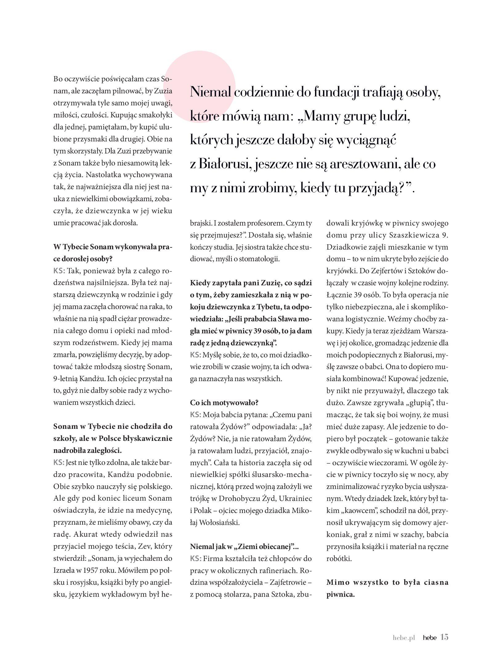 Gazetka hebe: Magazyn hebe - TURBO nawilżanie po urlopie 2021-09-01 page-15