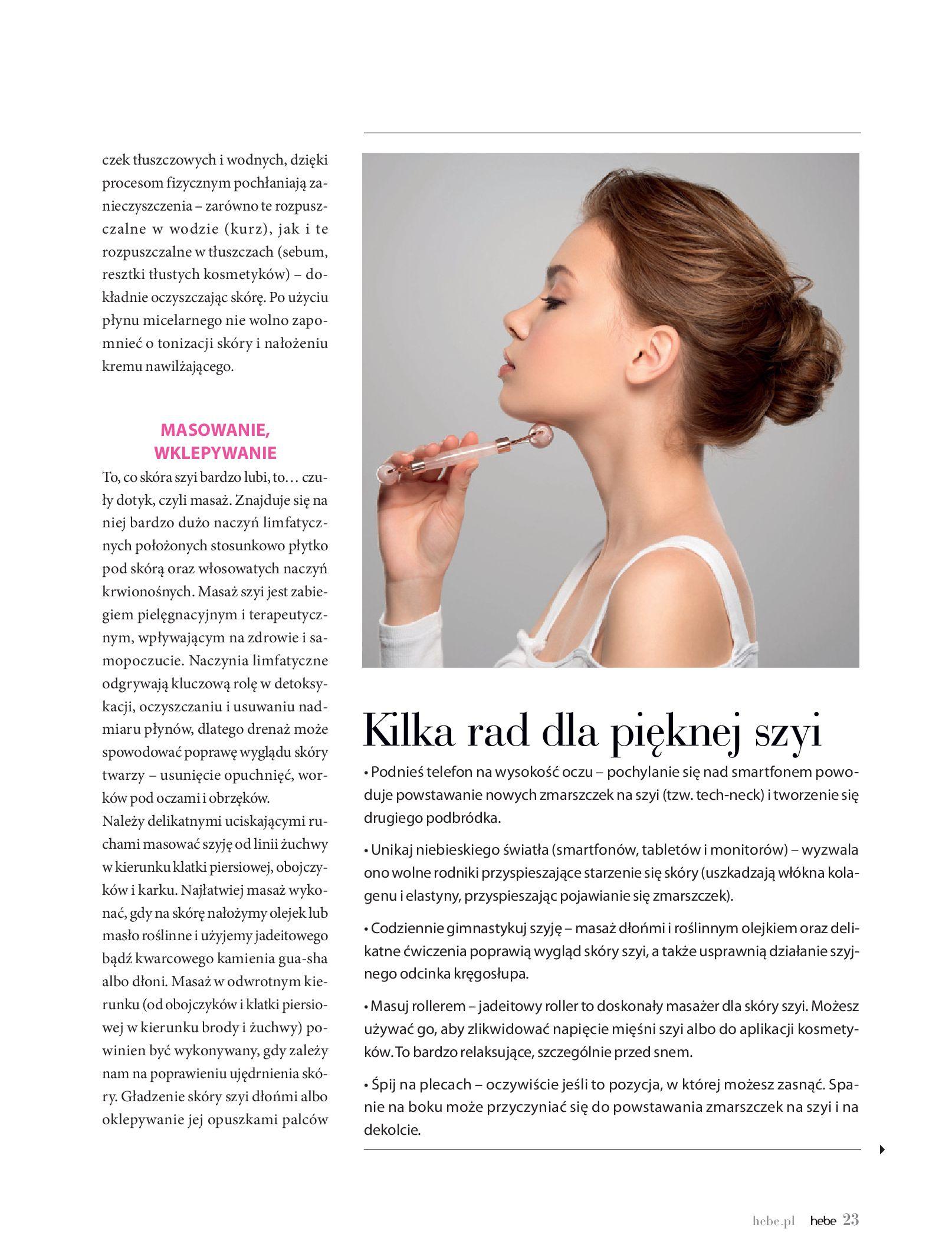 Gazetka hebe: Magazyn hebe - TURBO nawilżanie po urlopie 2021-09-01 page-23