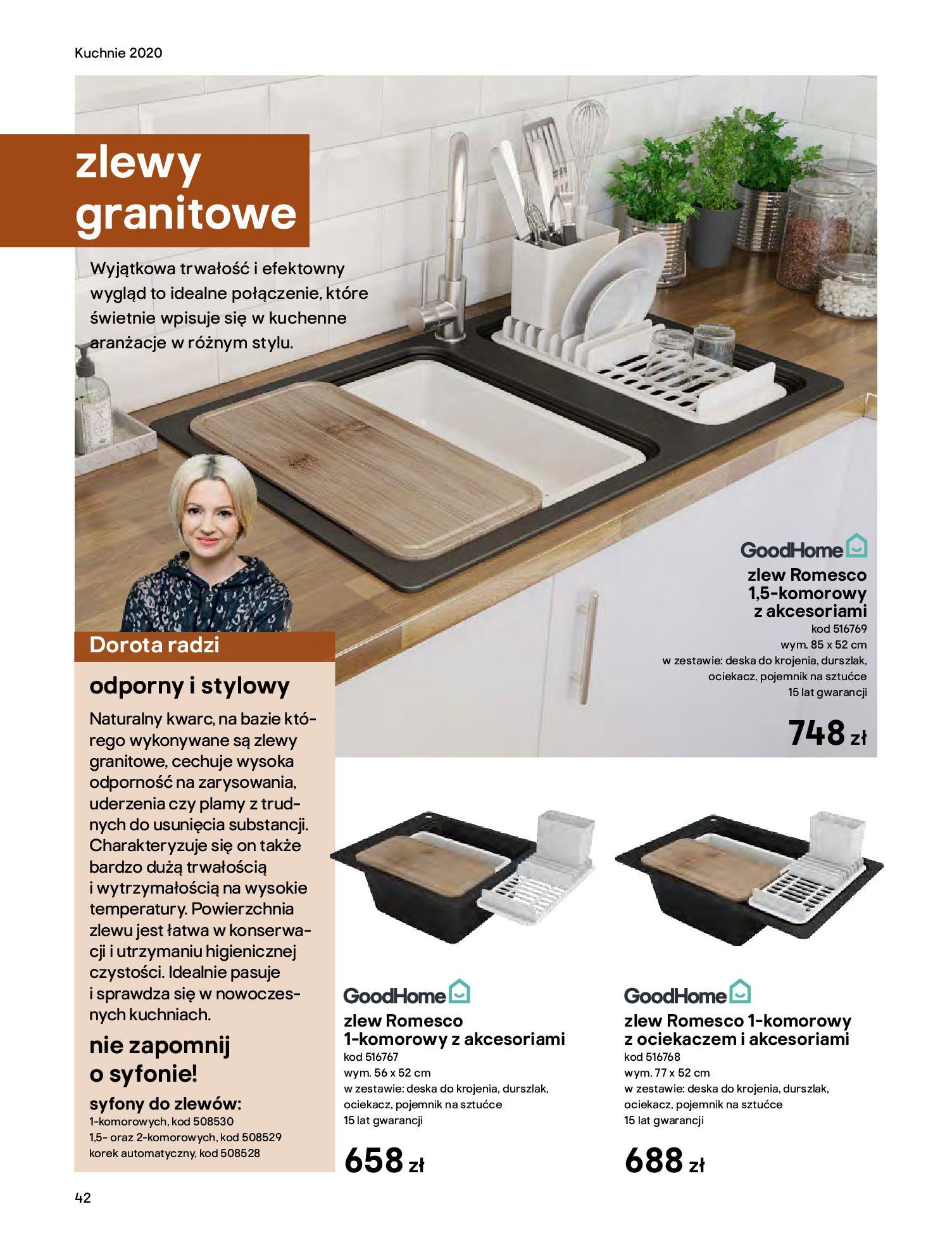 Gazetka Castorama - Katalog Kuchnie 2020-14.04.2020-31.12.2020-page-42