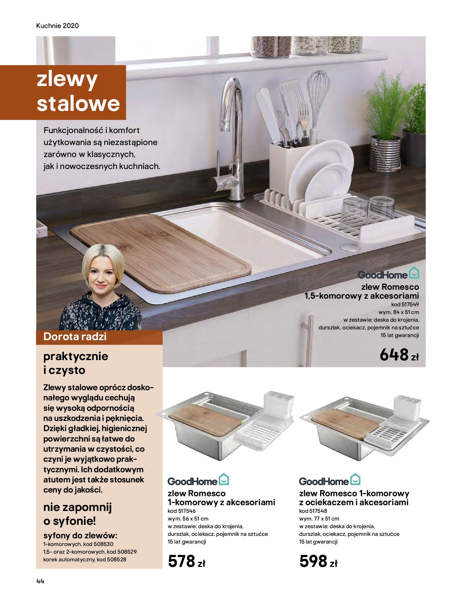 Gazetka Castorama - Katalog Kuchnie 2020-14.04.2020-31.12.2020-page-44