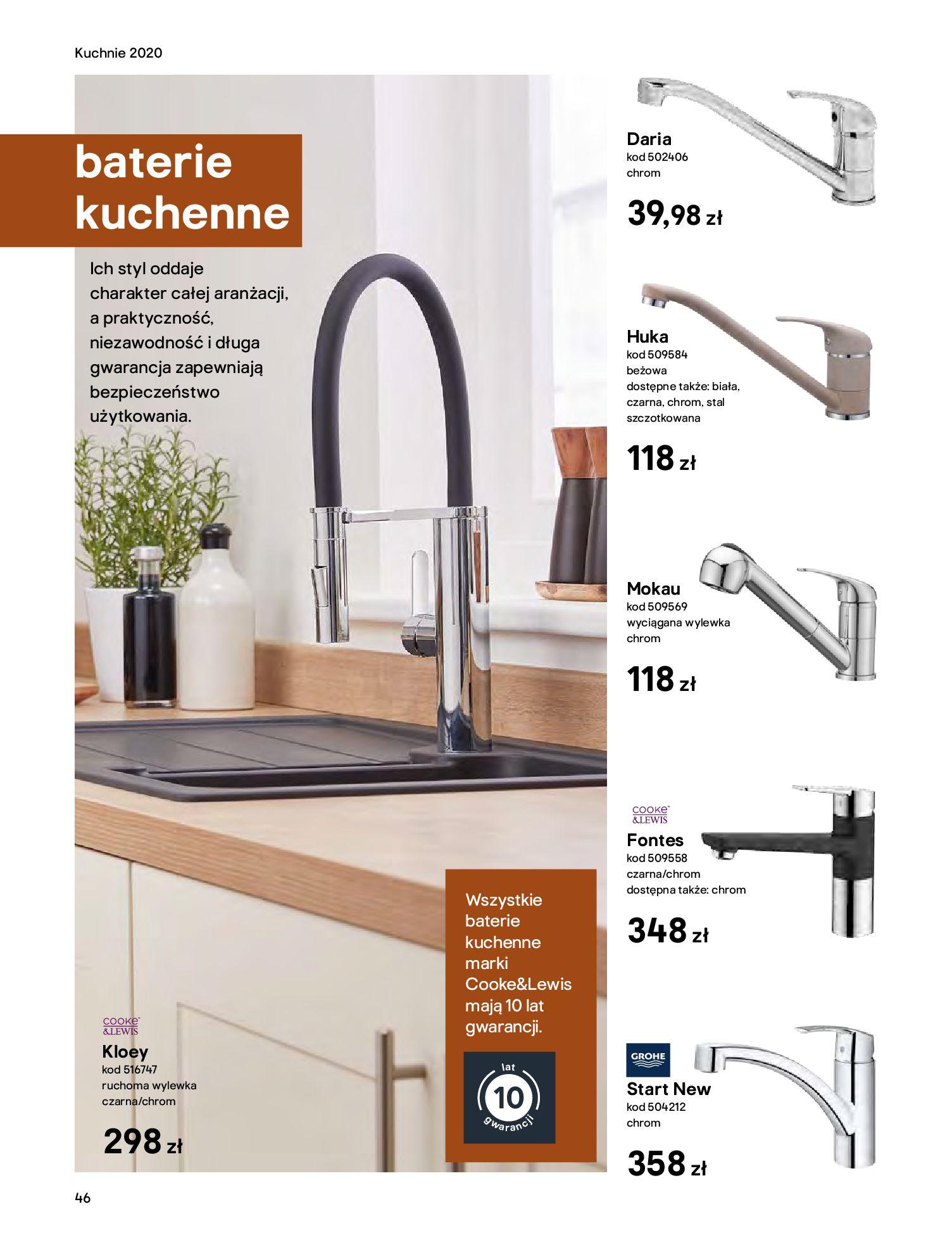 Gazetka Castorama - Katalog Kuchnie 2020-14.04.2020-31.12.2020-page-46