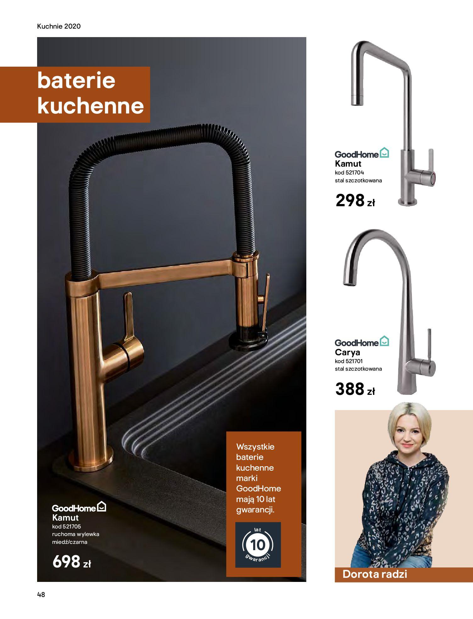 Gazetka Castorama - Katalog Kuchnie 2020-14.04.2020-31.12.2020-page-48