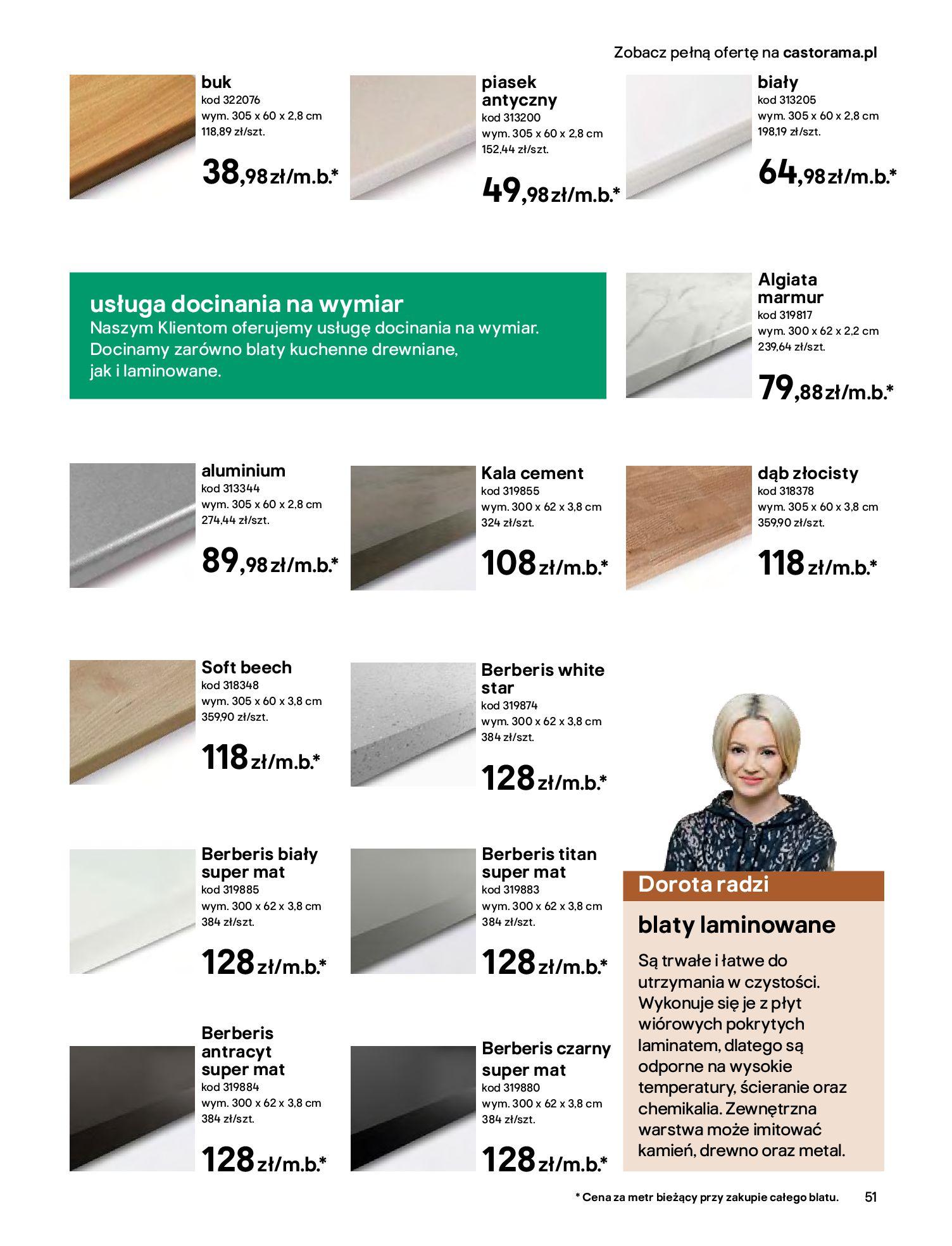 Gazetka Castorama - Katalog Kuchnie 2020-14.04.2020-31.12.2020-page-51