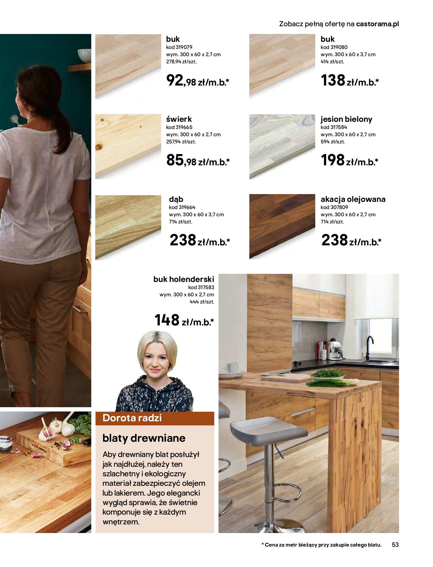 Gazetka Castorama - Katalog Kuchnie 2020-14.04.2020-31.12.2020-page-53