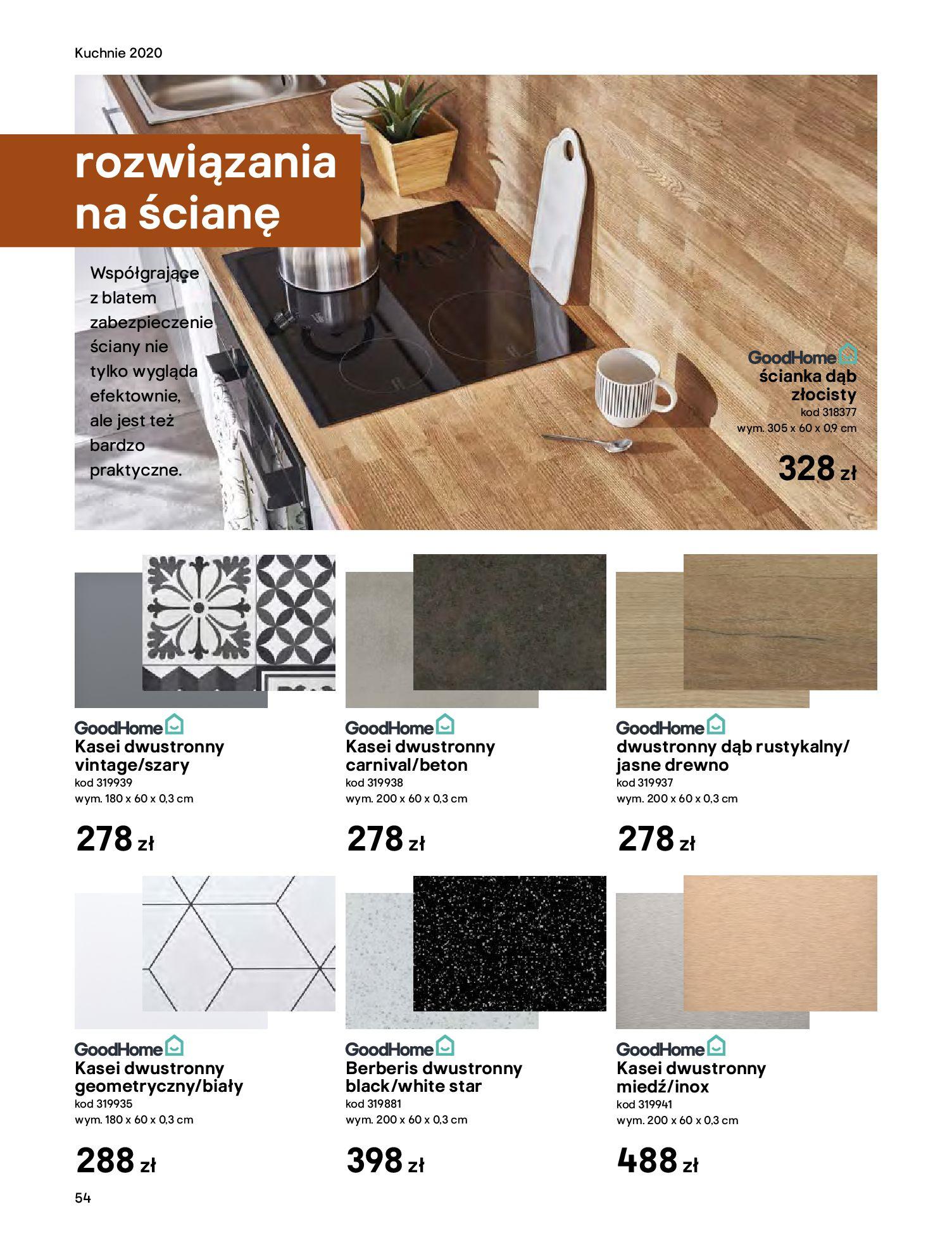 Gazetka Castorama - Katalog Kuchnie 2020-14.04.2020-31.12.2020-page-54