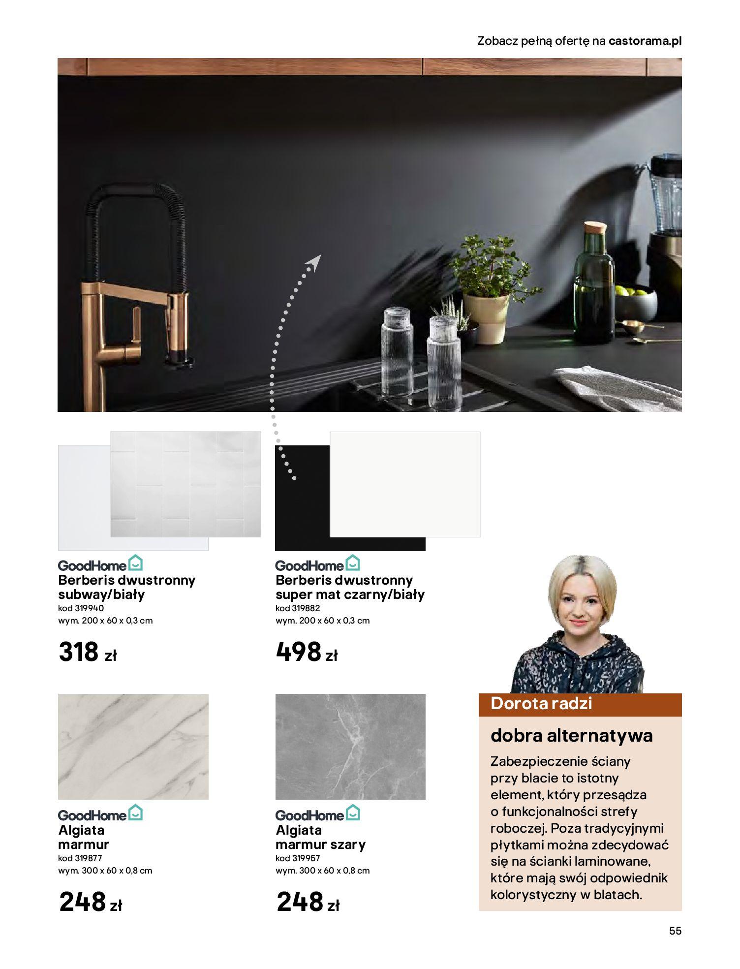 Gazetka Castorama - Katalog Kuchnie 2020-14.04.2020-31.12.2020-page-55
