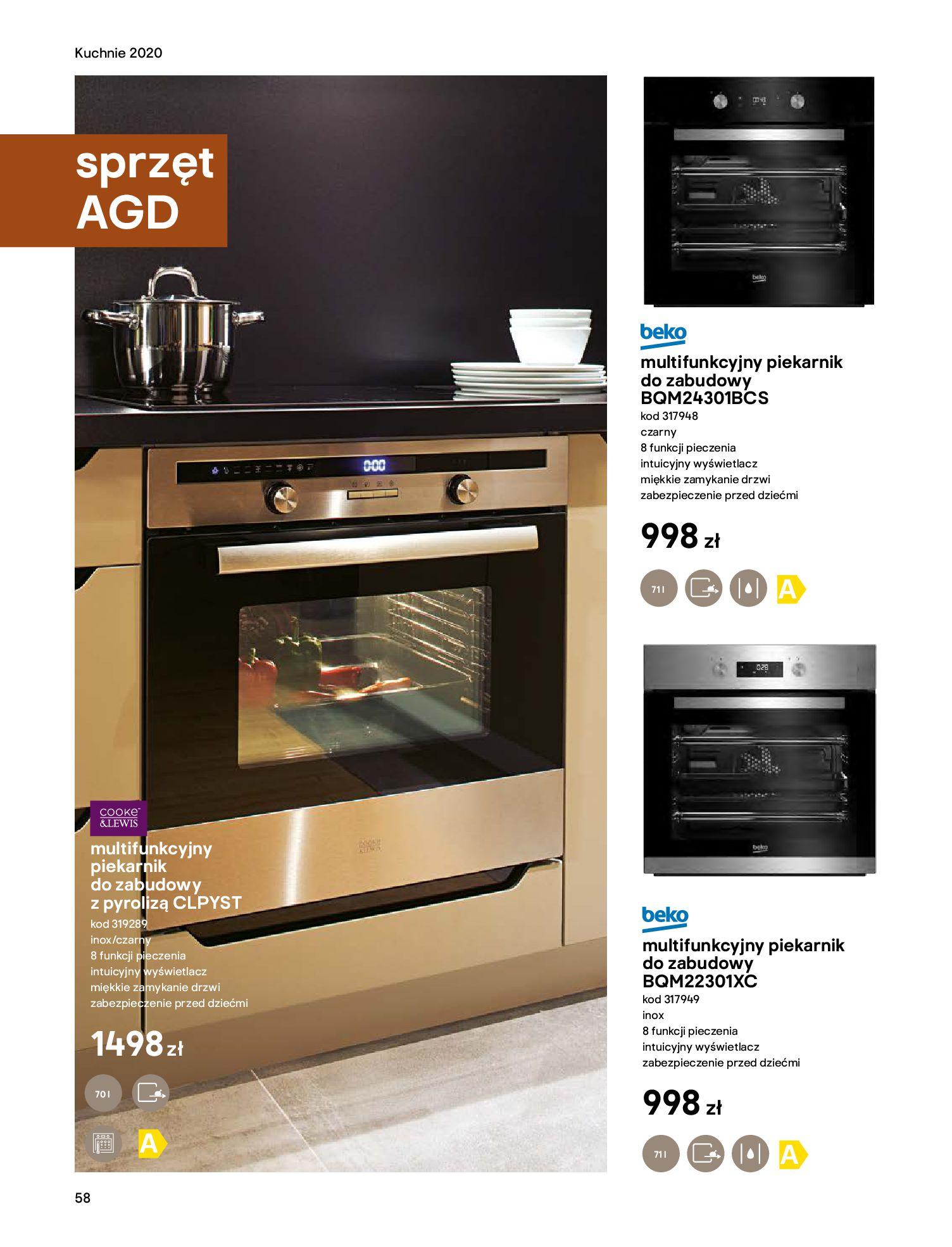 Gazetka Castorama - Katalog Kuchnie 2020-14.04.2020-31.12.2020-page-58